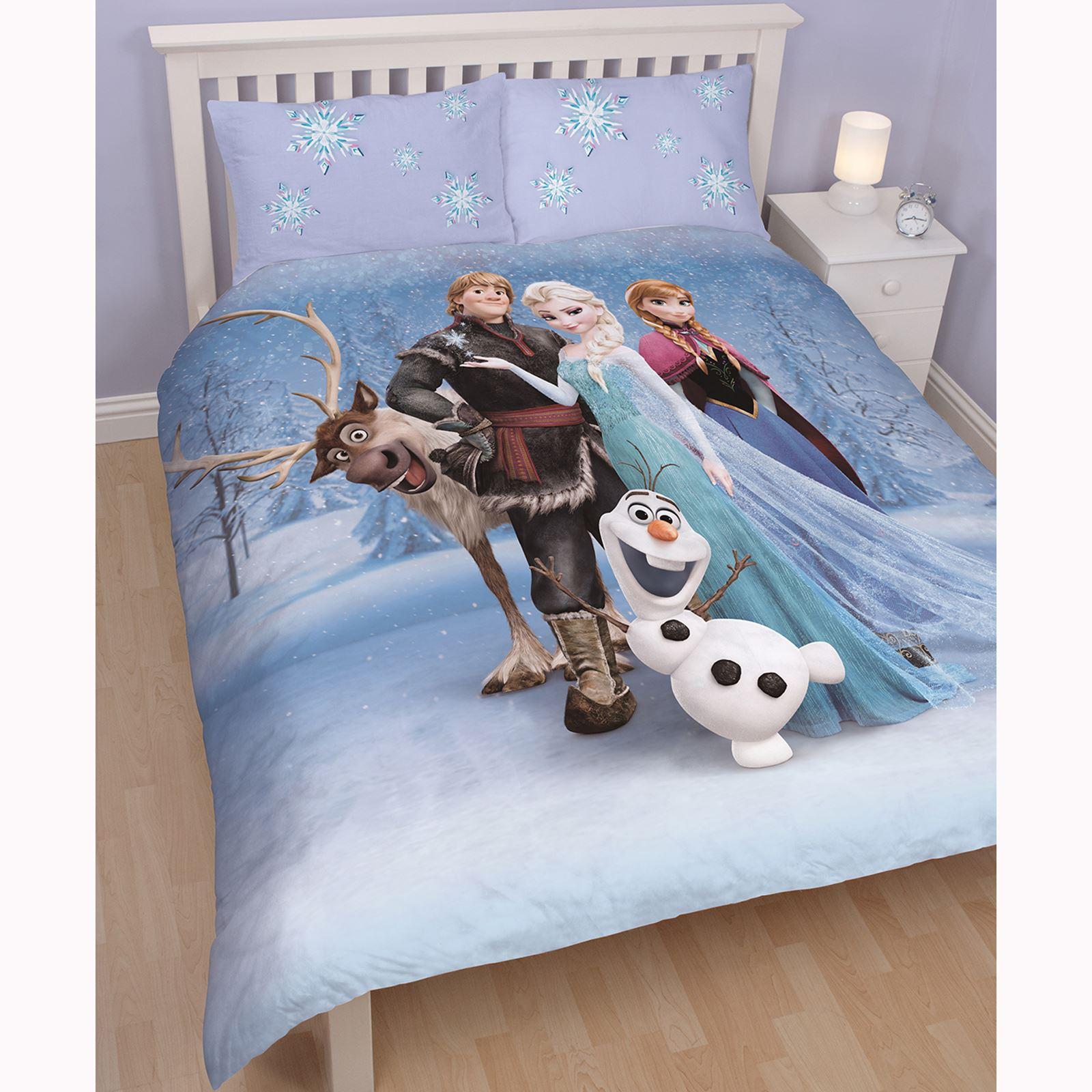 enfants panneau double 2 en 1 housse couette star wars la reine des neiges. Black Bedroom Furniture Sets. Home Design Ideas