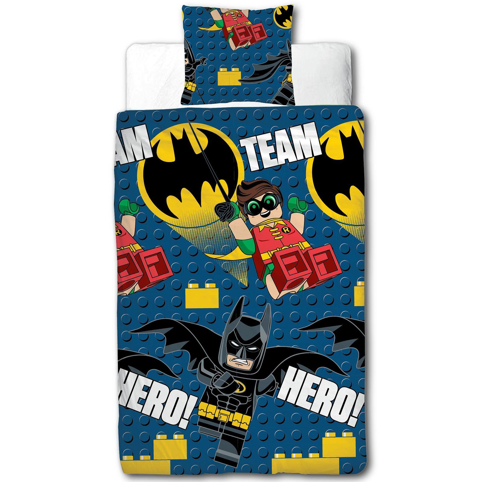LEGO BATMAN HERO EINZEL BETTBEZUG SET NEU : eBay