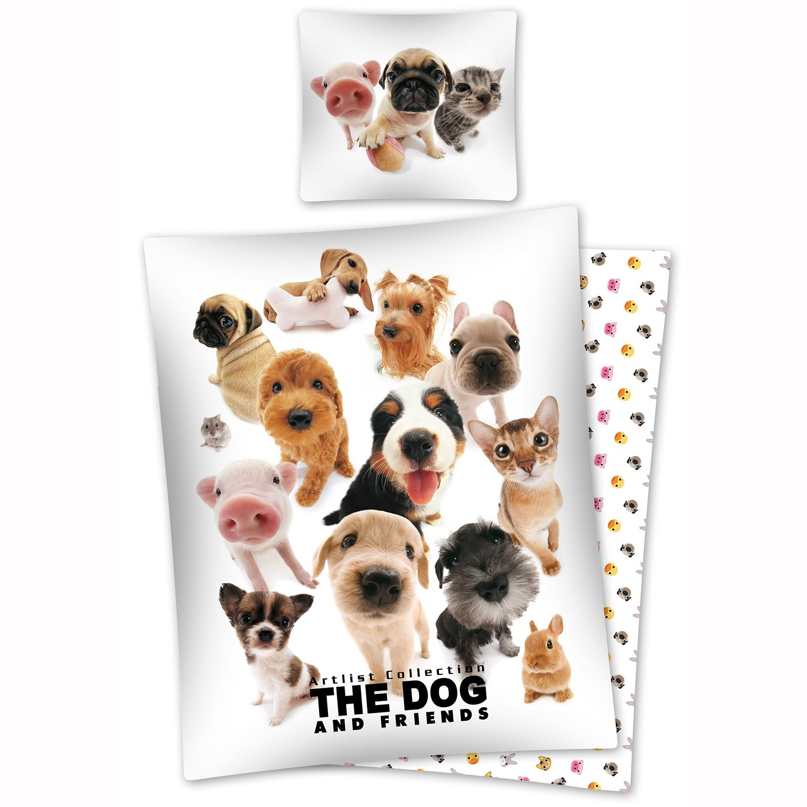 The Dog Artlist Collection Bedding