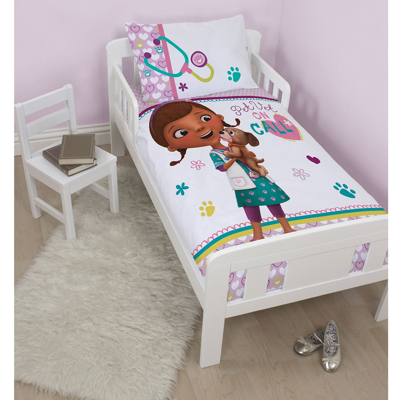 CHARACTER Amp DISNEY JUNIOR TODDLER BED DUVET COVER SETS