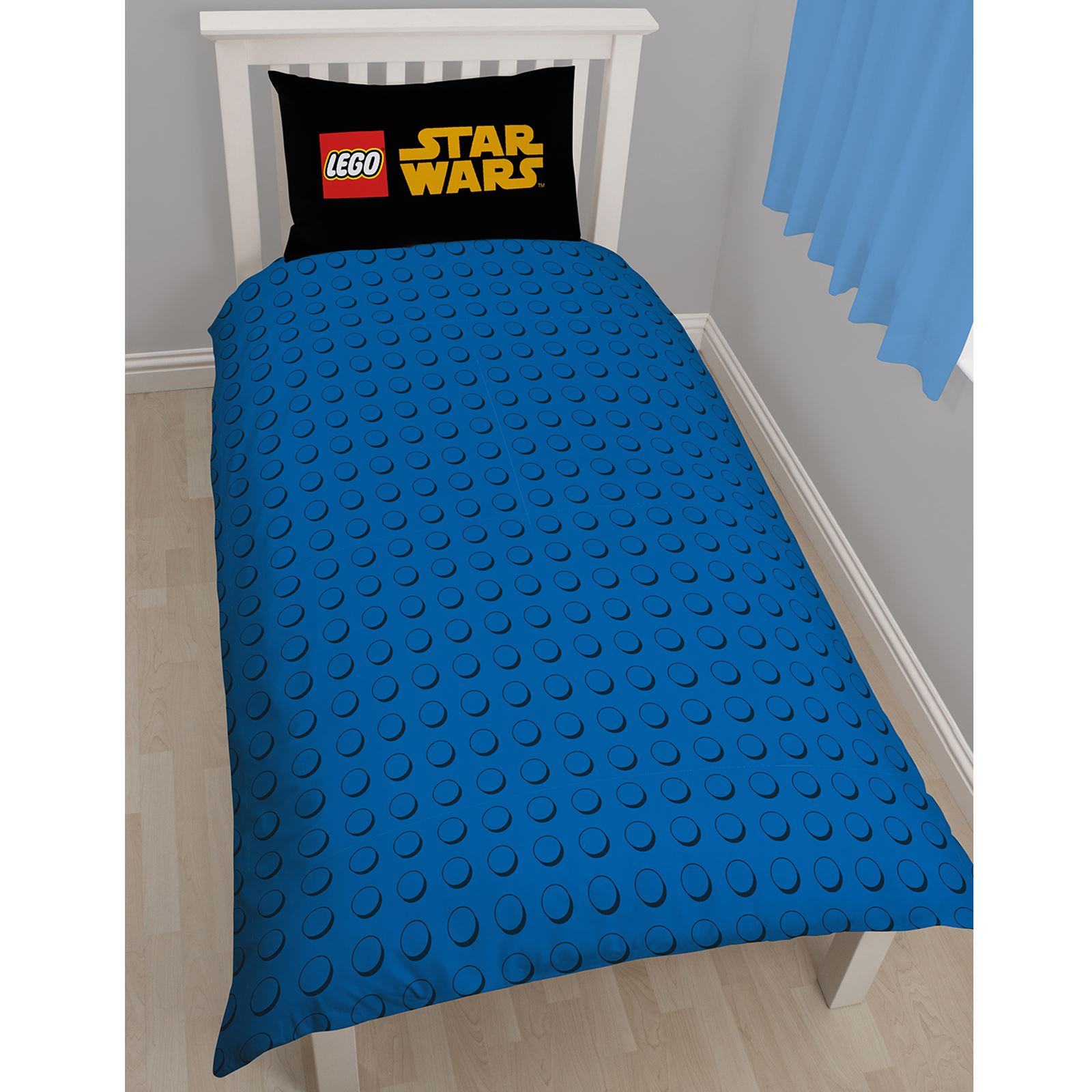lego star wars 39 raum 39 einzelbettbezug set neu bettw sche. Black Bedroom Furniture Sets. Home Design Ideas