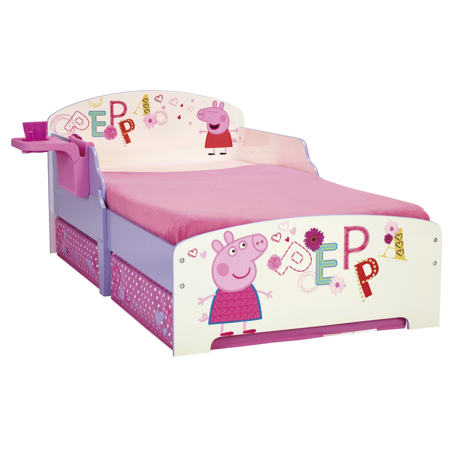 CHARACTER DISNEY JUNIOR TODDLER BEDS WITH STORAGE