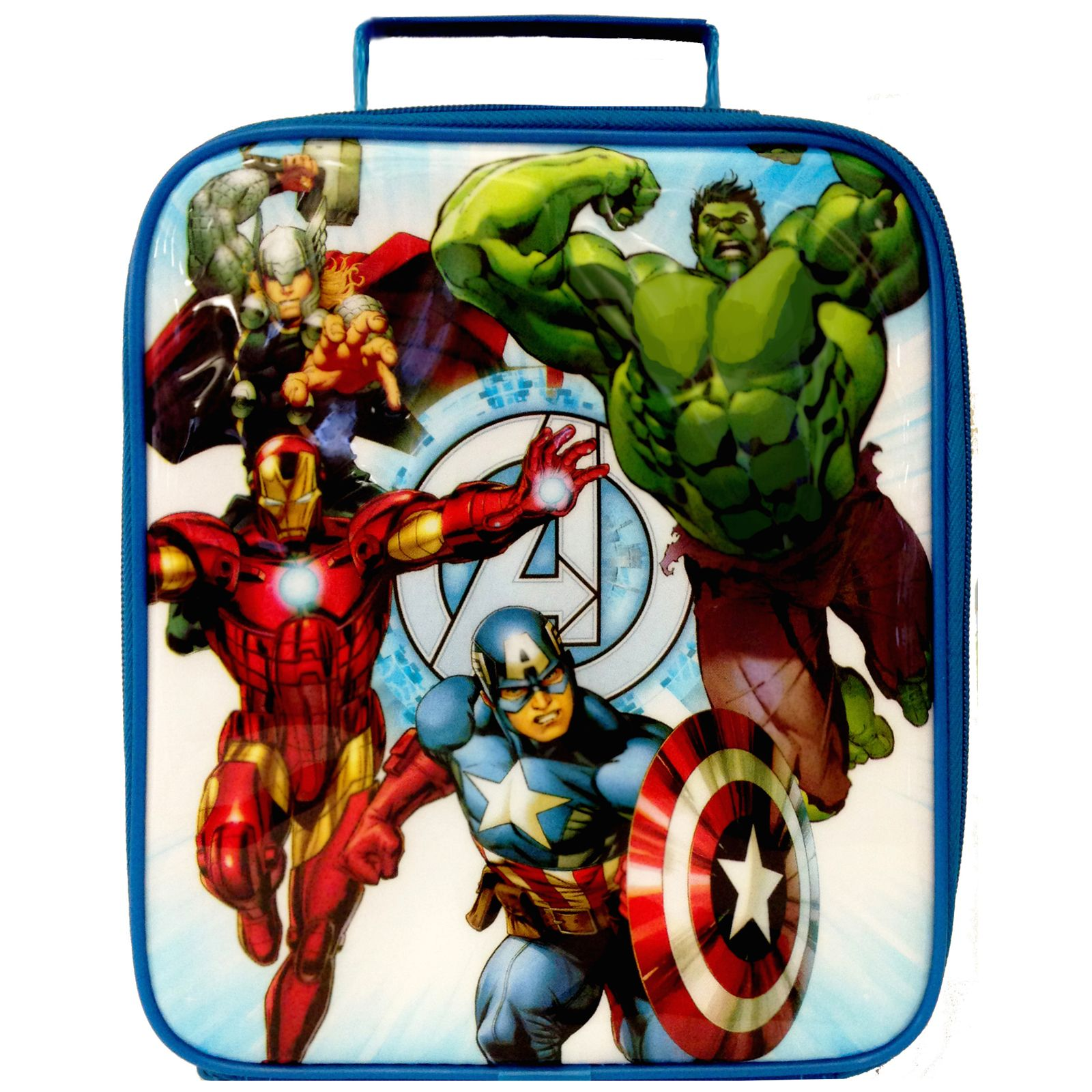 Dulux Marvel Avengers Bedroom In A Box Officially Awesome: MARVEL AVENGERS INSULATED LUNCH BAG IRON MAN THOR HULK