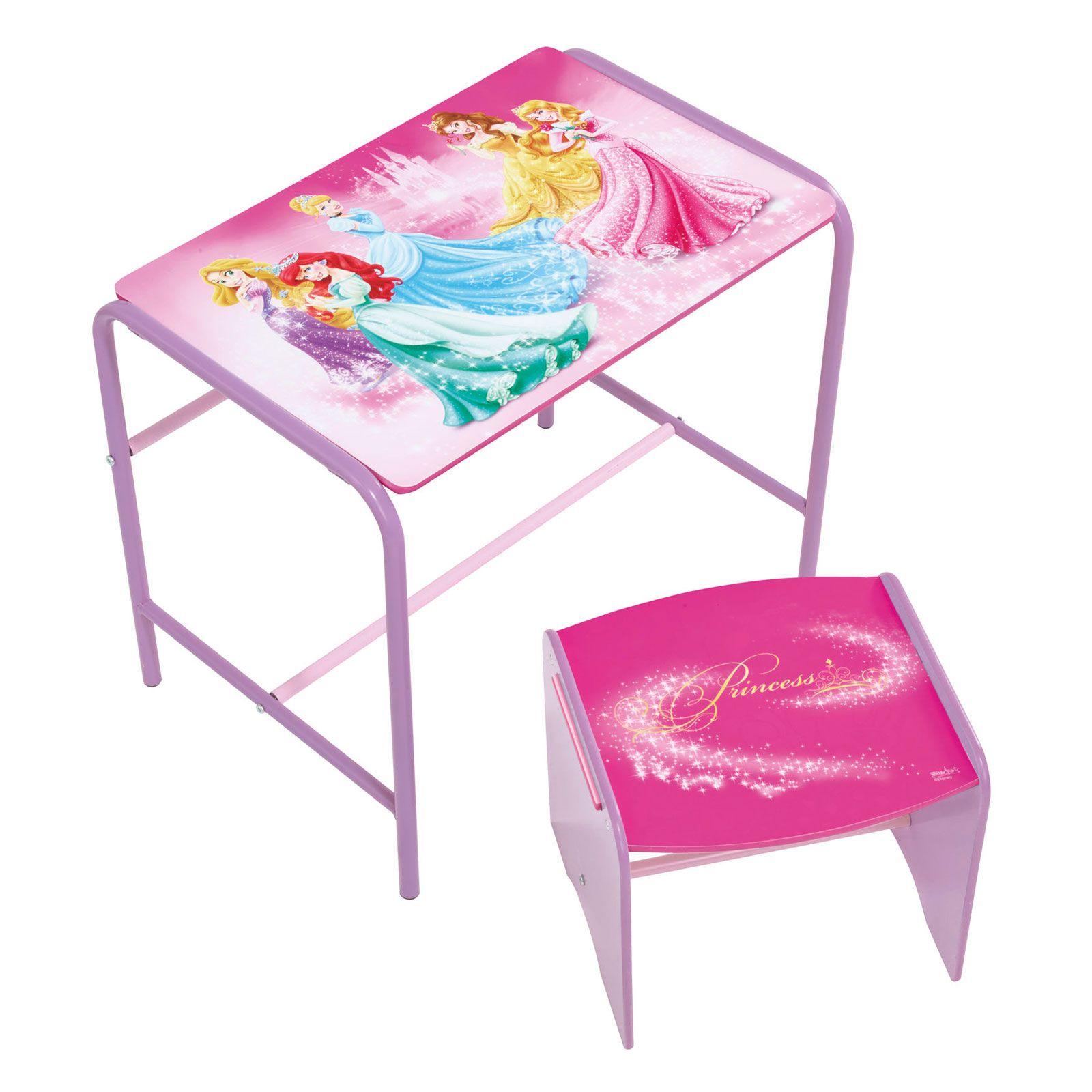 disney princess doodle schreibtisch stuhl kinder schlafzimmer m bel ebay. Black Bedroom Furniture Sets. Home Design Ideas