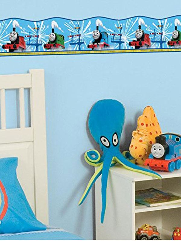 Selbstklebende Tapete Cars : Thomas and Friends Wall Border