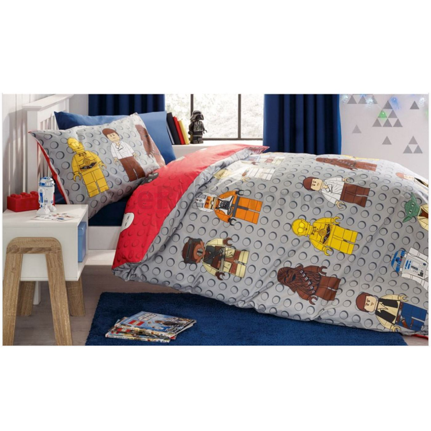 Lego Throw Pillow And Blanket Set : OFFICIAL LEGO SINGLE DUVET COVERS NEW ? NINJAGO, MOVIE, CITY, SUPERHEROES eBay