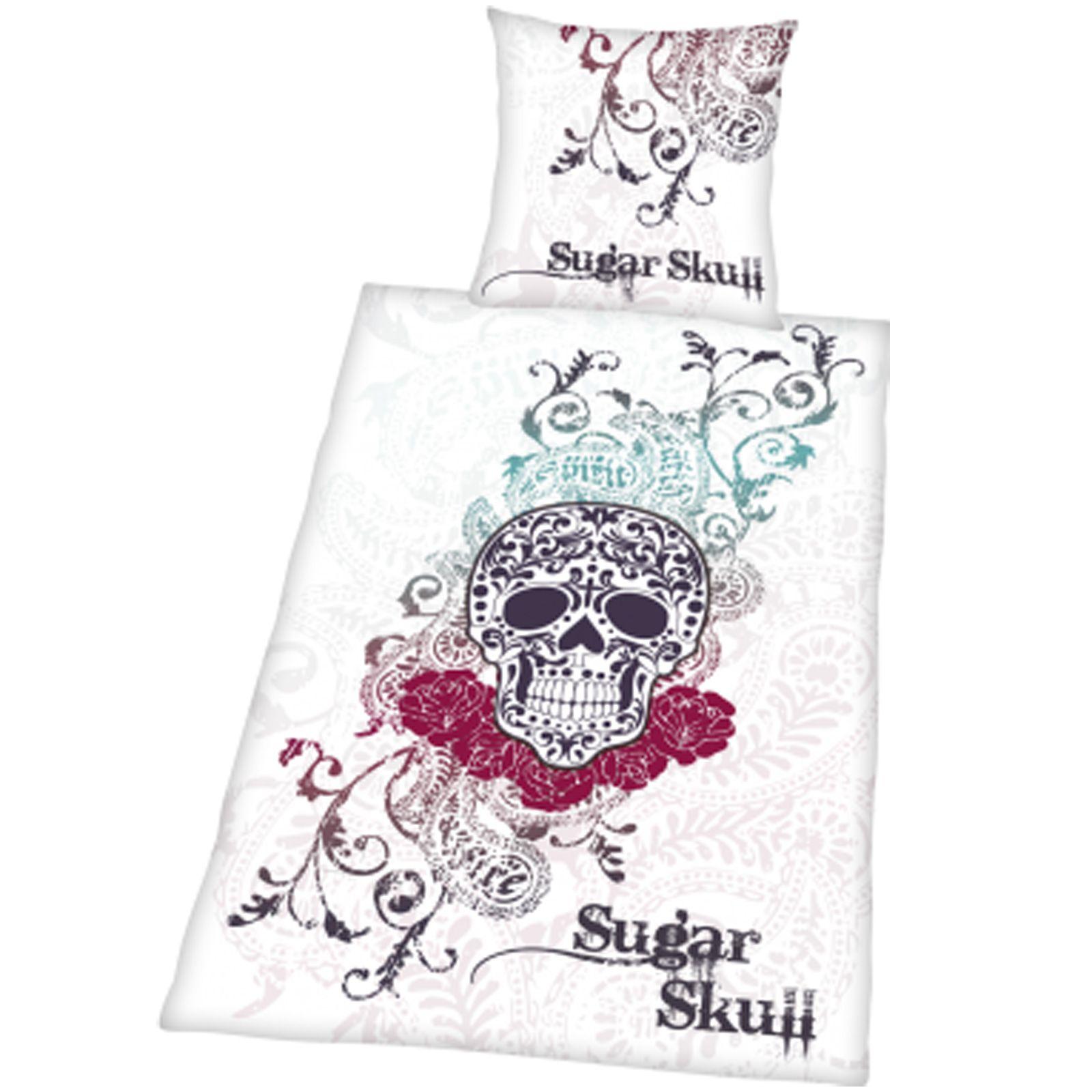 Sugar Skull Duvet Cover Set New Mexican Style Artwork Ebay