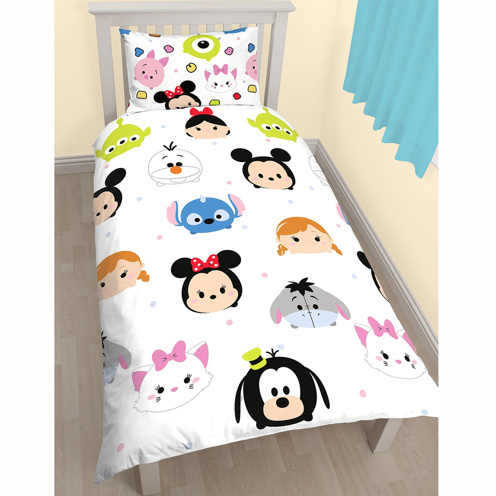 tsum tsum conjunto individual giratorio juego funda. Black Bedroom Furniture Sets. Home Design Ideas