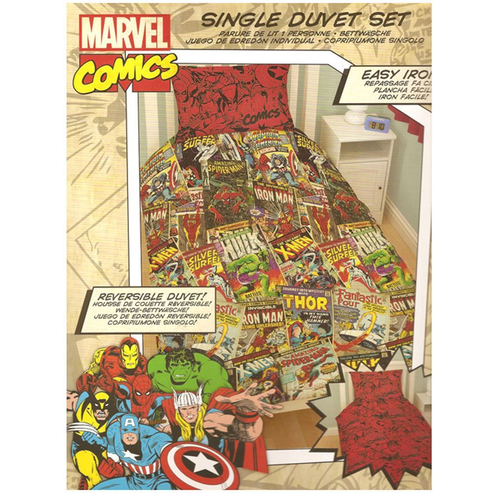 official avengers marvel comics bedding bedroom accessories duvets