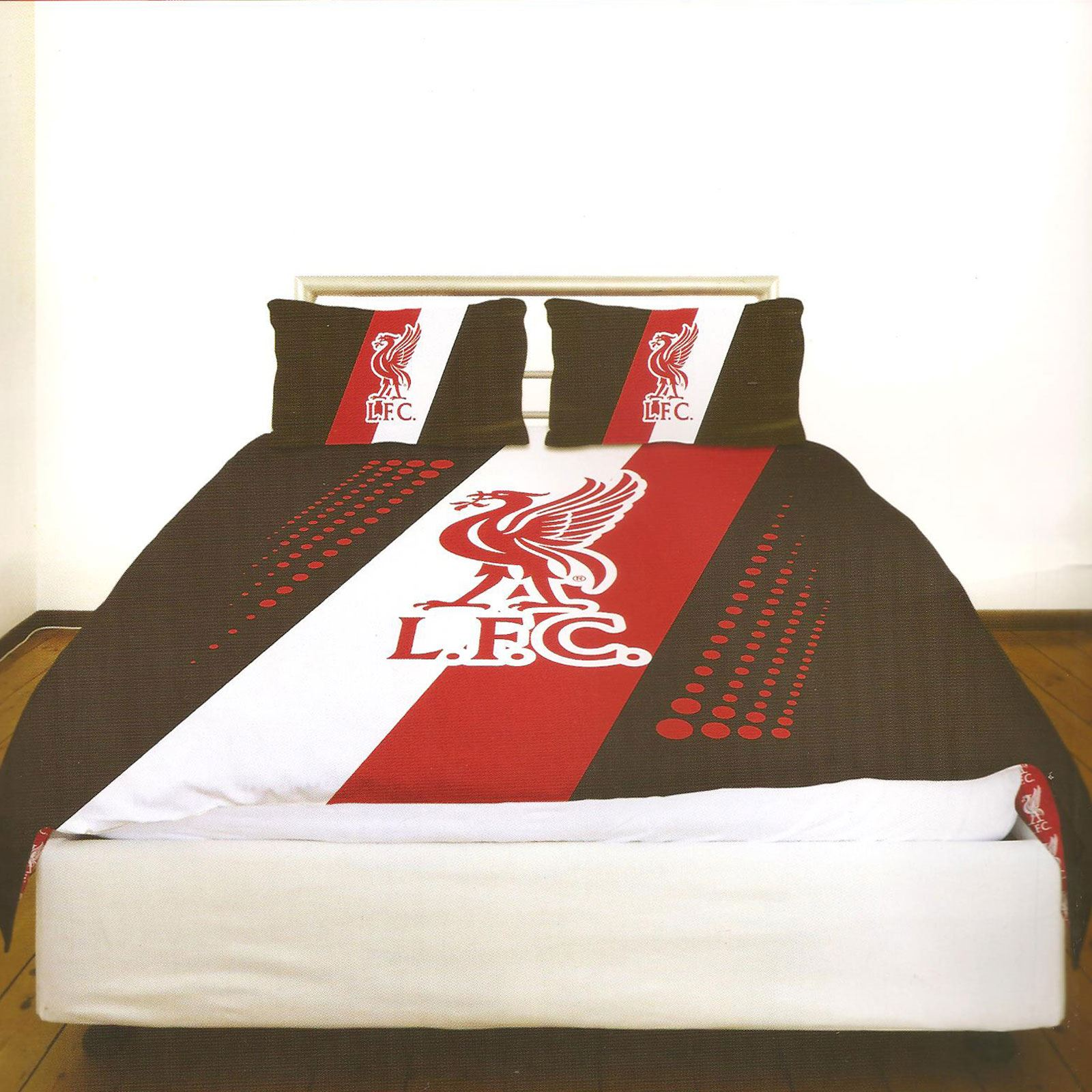 Liverpool Fc Single And Double Duvet Cover Sets Bedroom Bedding Free P