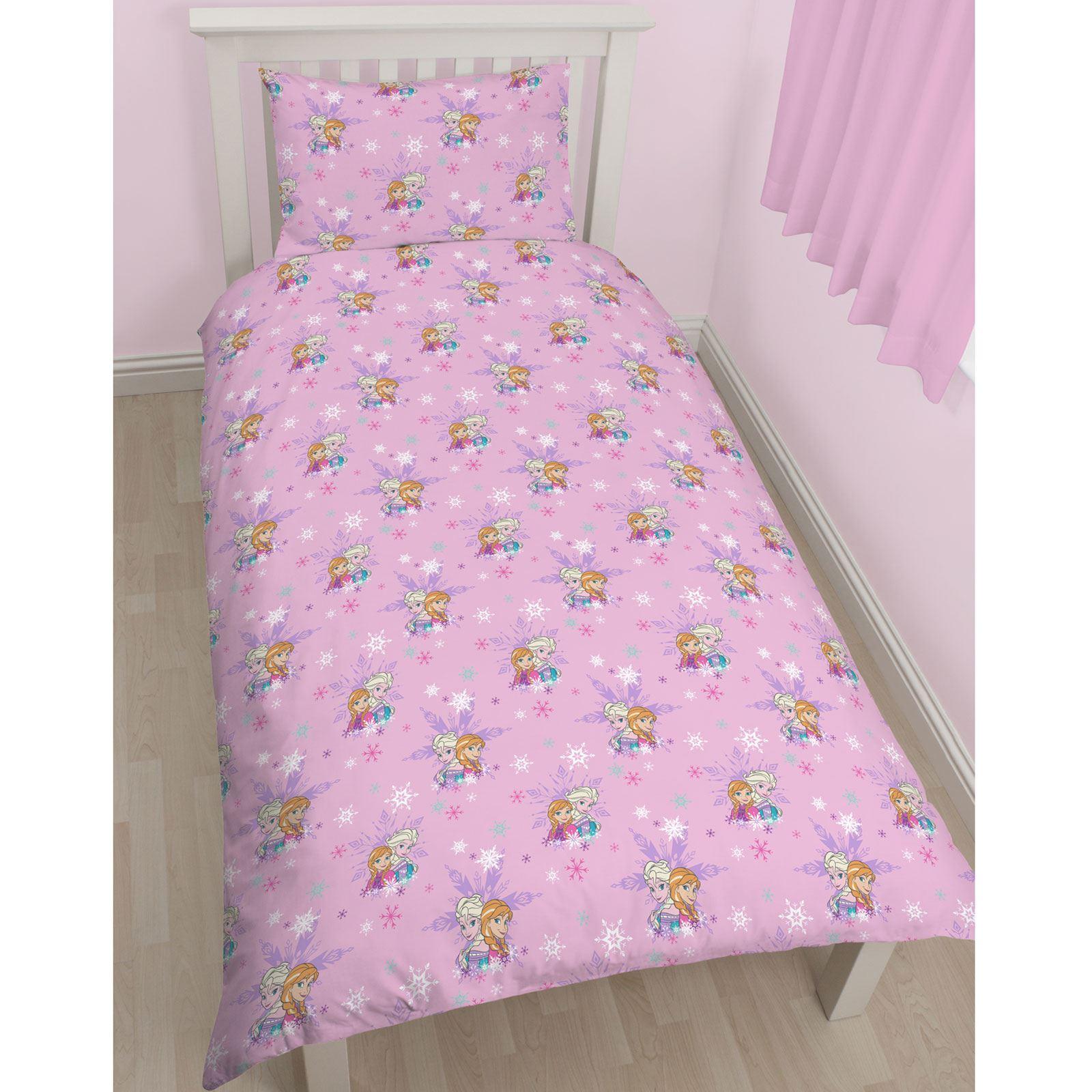 Disney frozen magico singolo rotante set copripiumino biancheria da letto gratis ebay - Biancheria letto disney ...