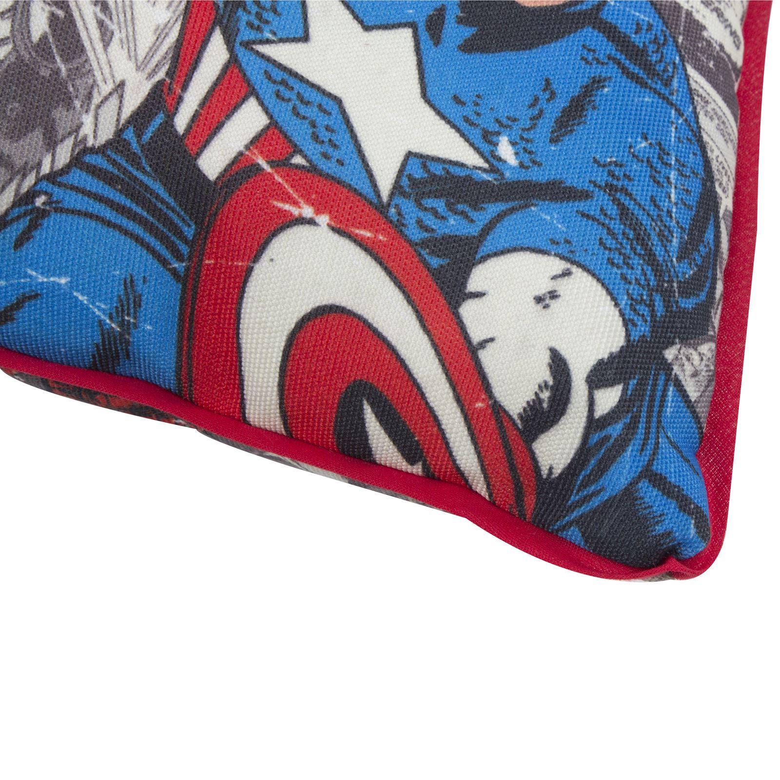 marvel comics gro e leinwand kissen neu iron man hulk thor. Black Bedroom Furniture Sets. Home Design Ideas