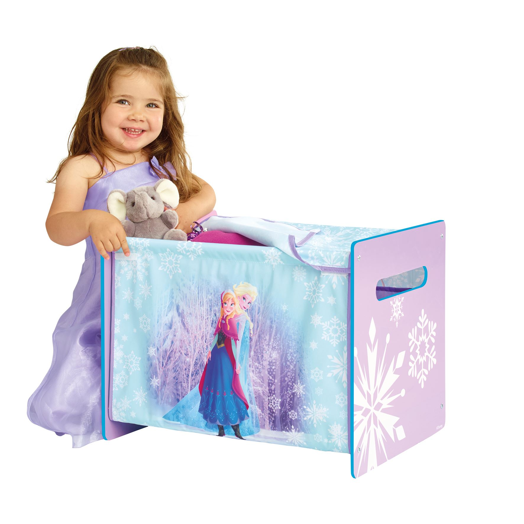 Disney Frozen Cosytime TOY BOX NEW 100 Official Bedroom Storage EBay