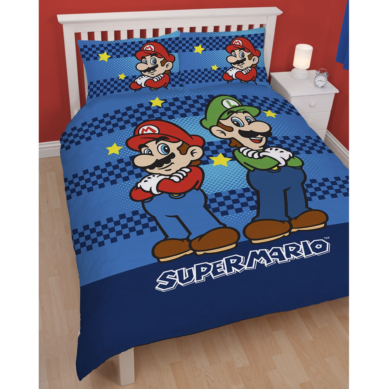 nintendo super mario brothers bedding duvet cover sets boys bedroom