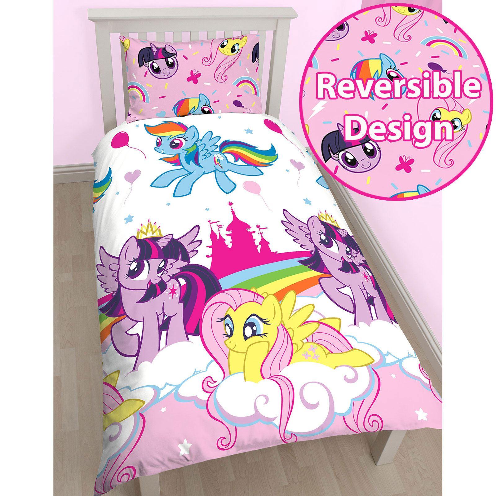 my little pony housse couette simple ensembles chambre. Black Bedroom Furniture Sets. Home Design Ideas