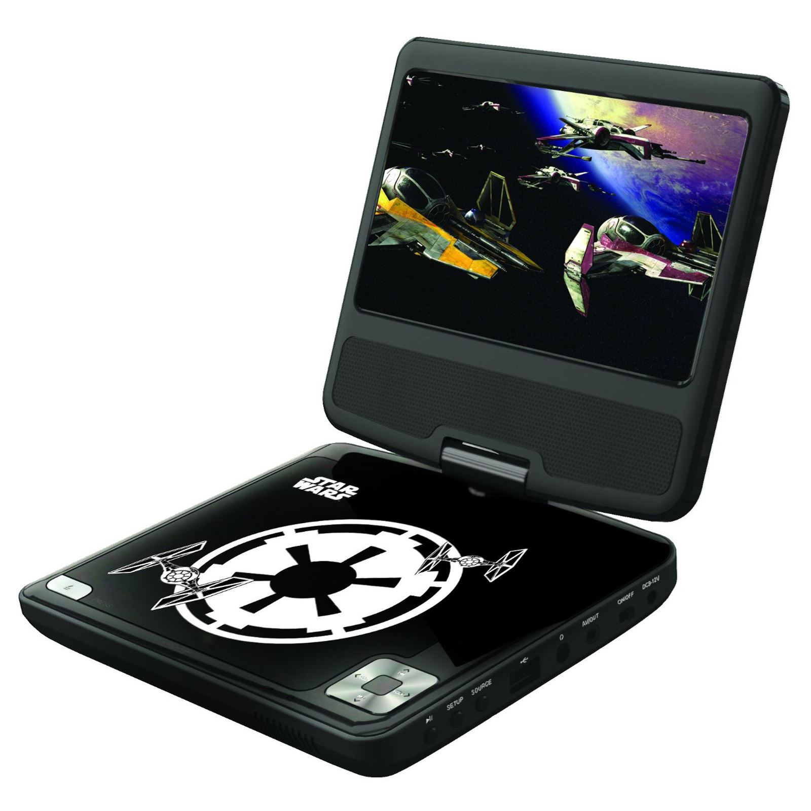 kids portable dvd player frozen avengers star wars finding. Black Bedroom Furniture Sets. Home Design Ideas