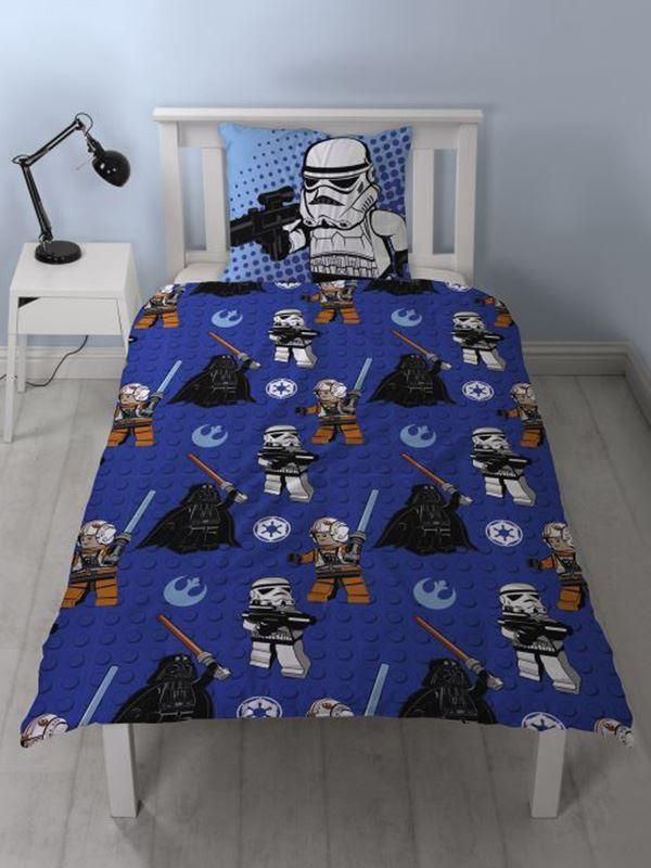 Lego Star Wars 100 Cotton Duvet Cover Set New Bedding Ebay