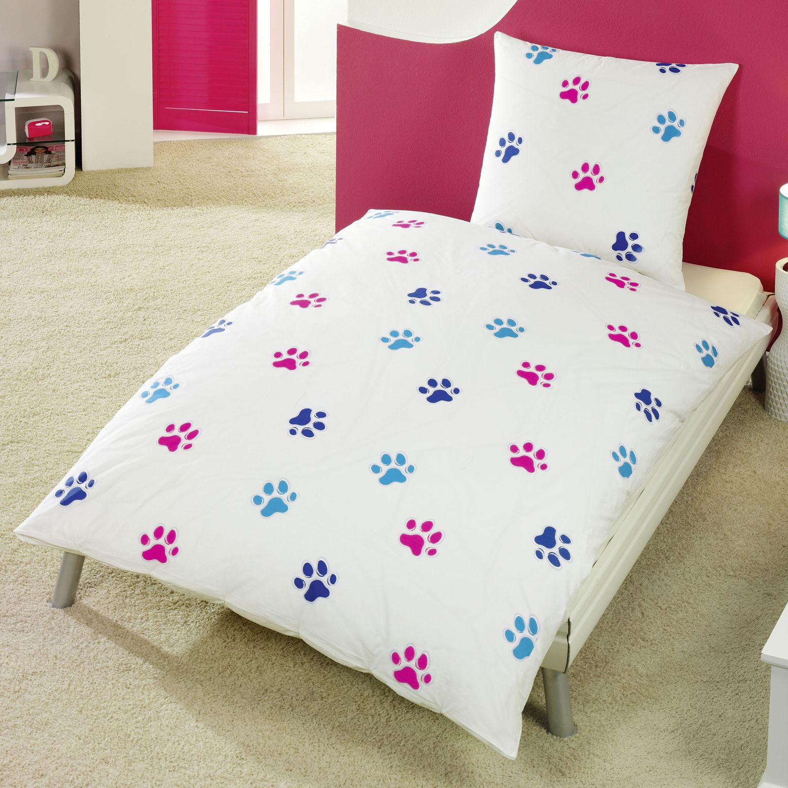 Tier bettwäsche 100% baumwolle bettbezüge neu schlafzimmer pferde ...