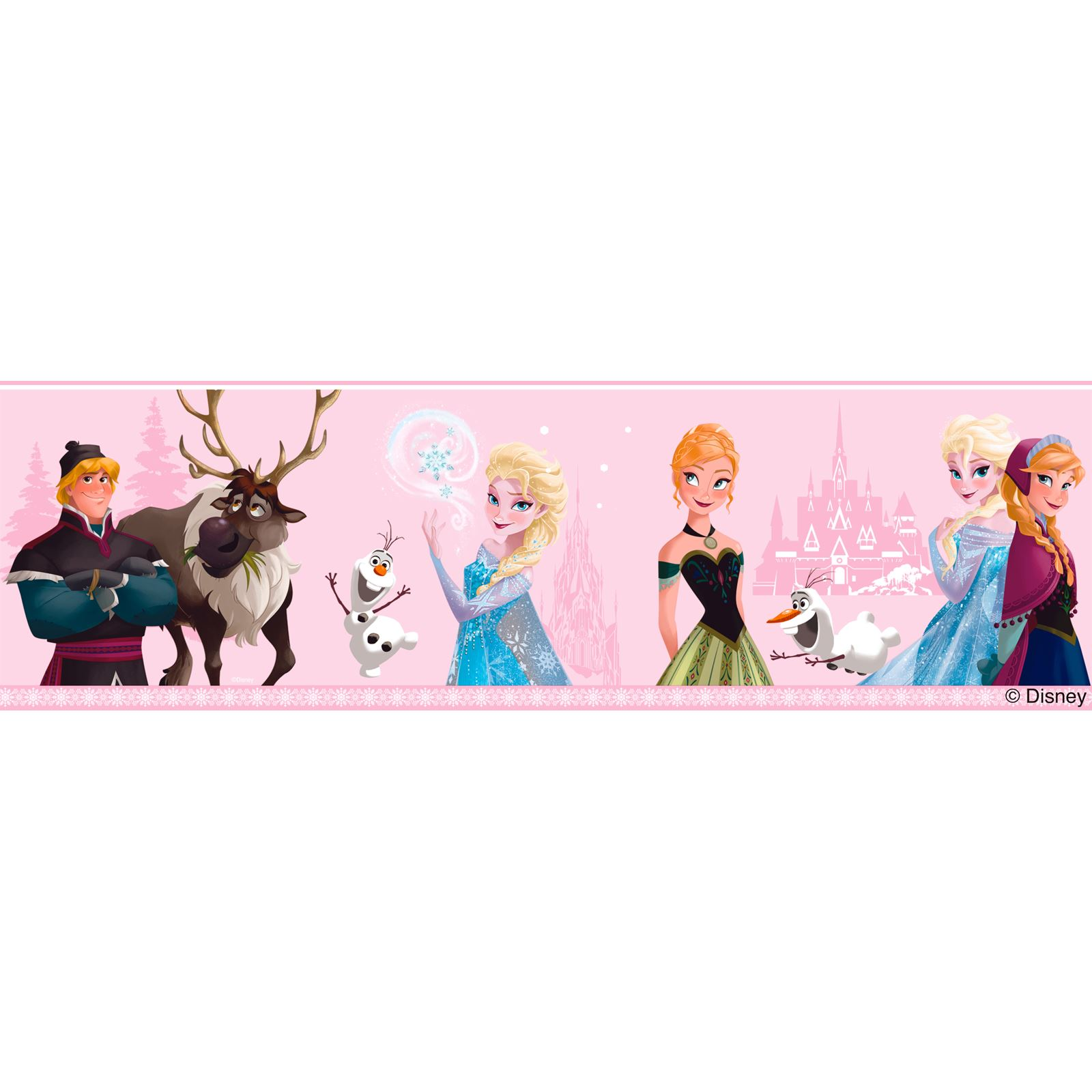 Exceptional DISNEY FROZEN WALL DECOR INCLUDES WALLPAPER BORDERS AND  Part 28