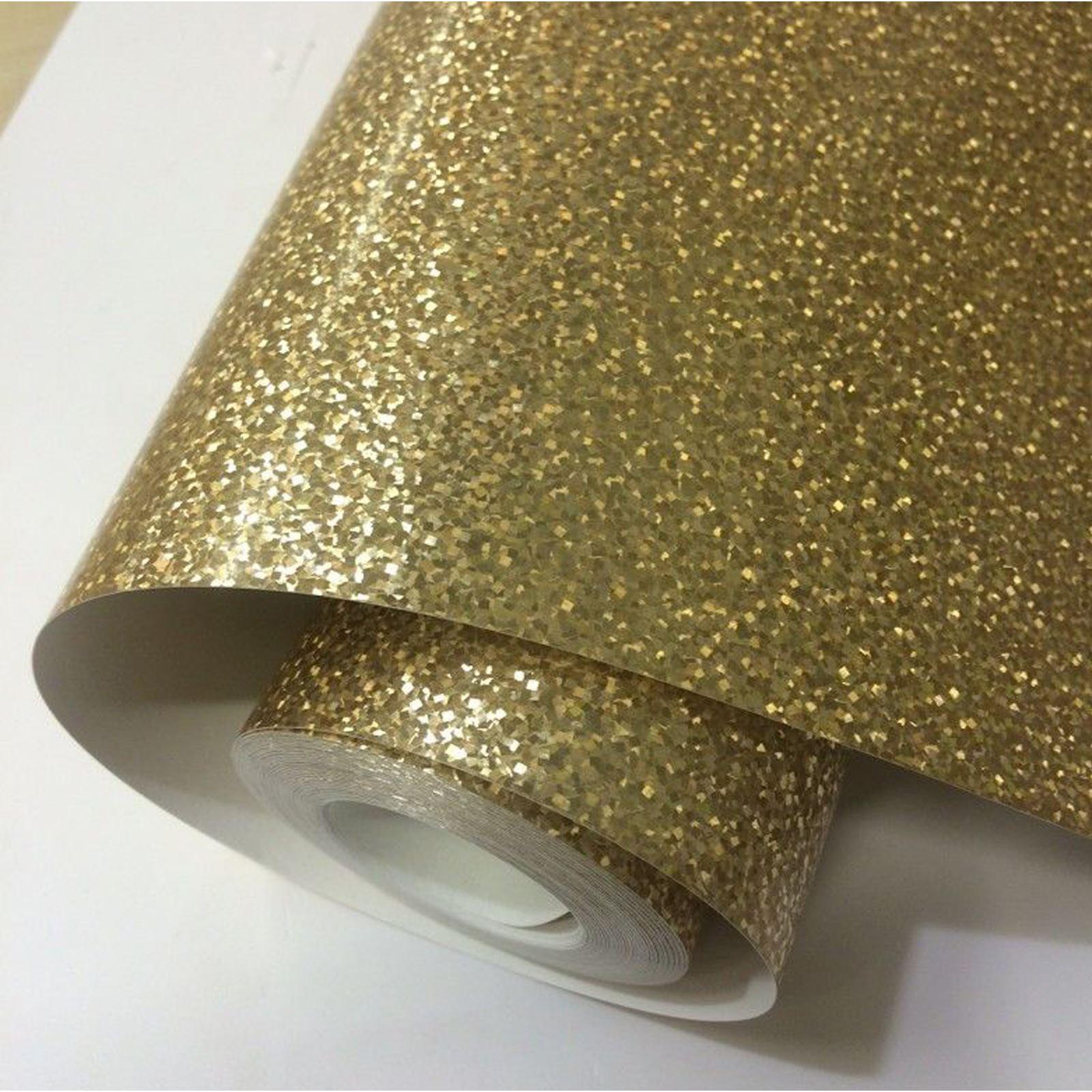 holografisch glitzer tapete rolls silber gold rosa fine. Black Bedroom Furniture Sets. Home Design Ideas