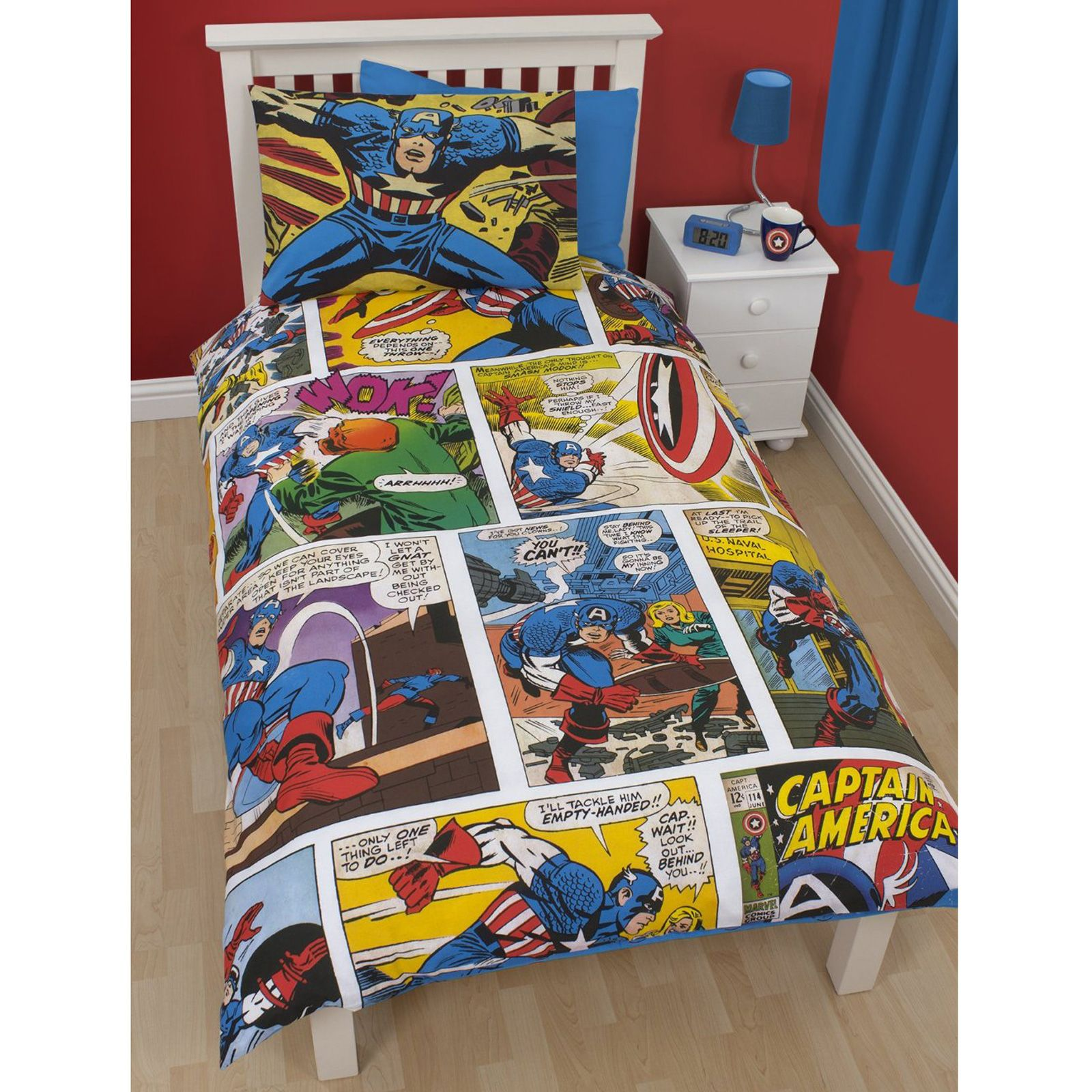 Marvel Bedding And Curtains Covers and Bedding