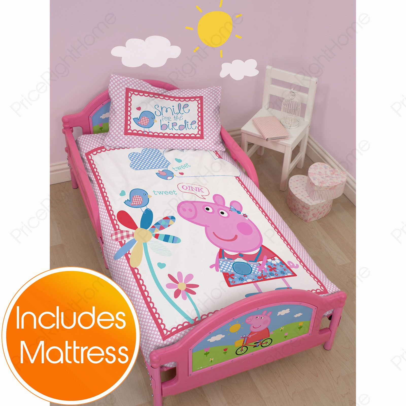 Peppa Pig Toddler Bed 28 Images Peppa Pig Toddler Junior Bed Shelf Underbed Storage Peppa
