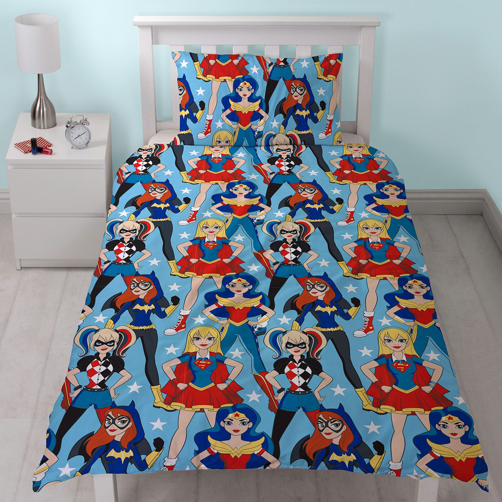 Batgirl Bedding Set