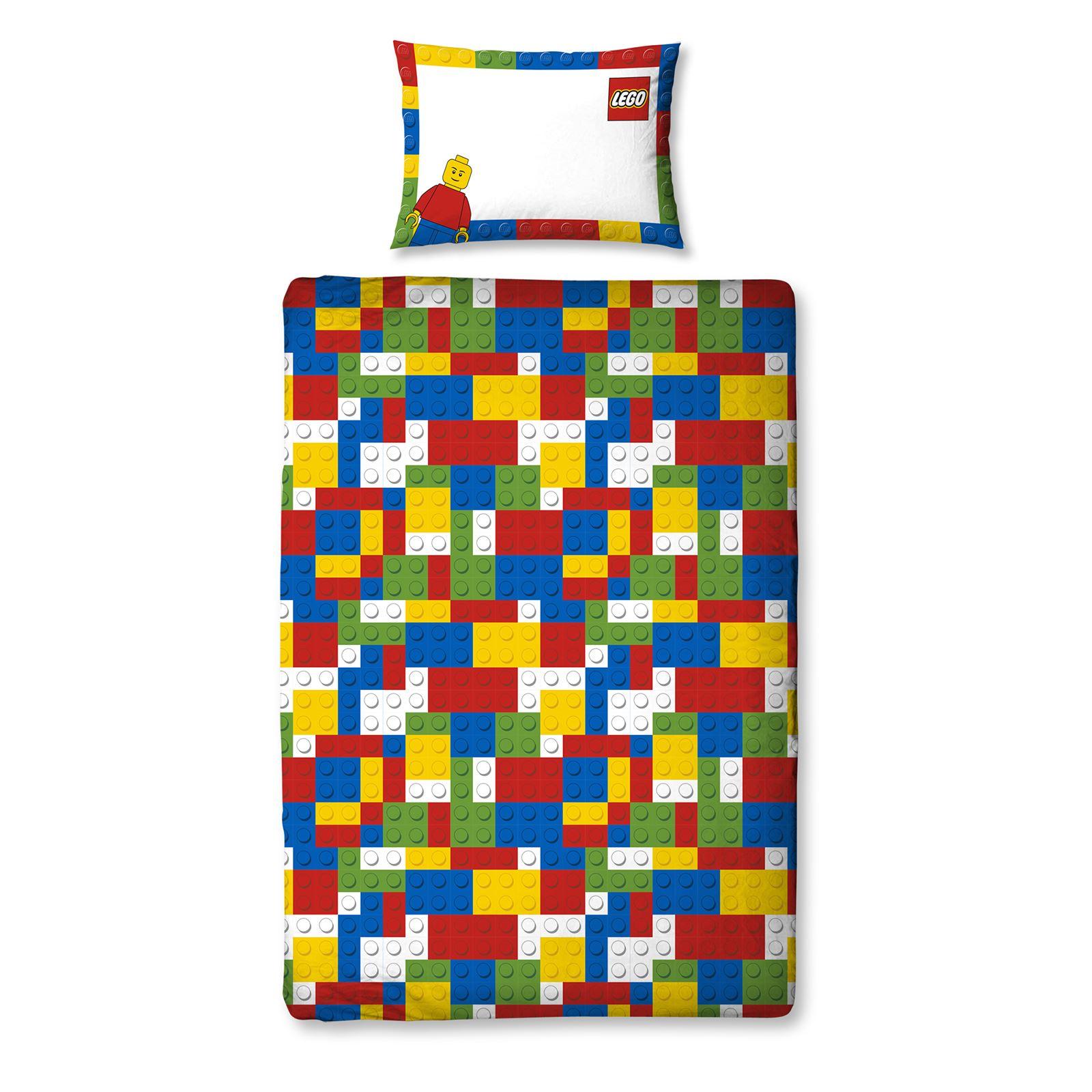 Lego Classic Minifigures Single Duvet Cover Set Panel