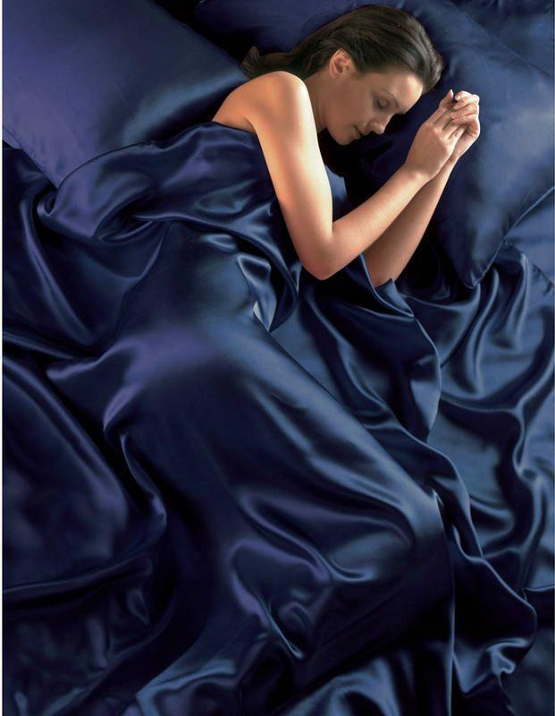 Satin bedding sets duvet cover fitted sheet pillowcases ebay