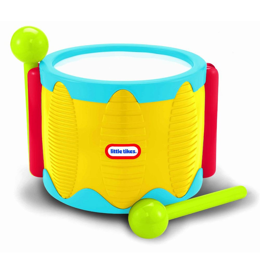 Little Tikes Tap A Tune Drum Yellow New Toddler Toy Ebay