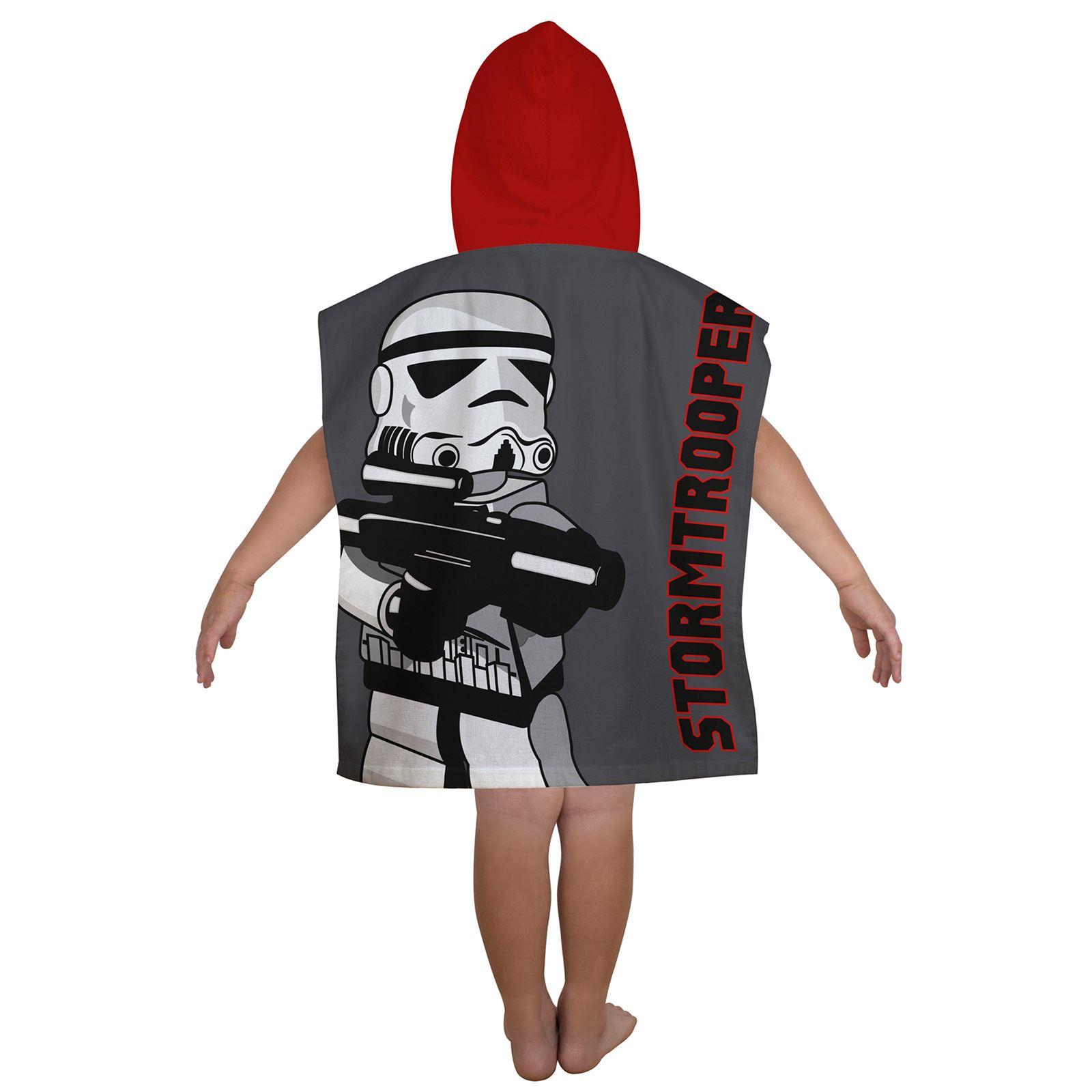 Cortinas De Baño Star Wars:Hooded Poncho Towel