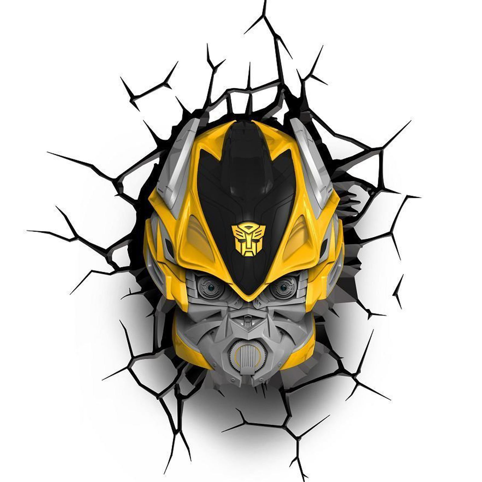 Transformers 3d Wall Lights Optimus Prime Bumblebee