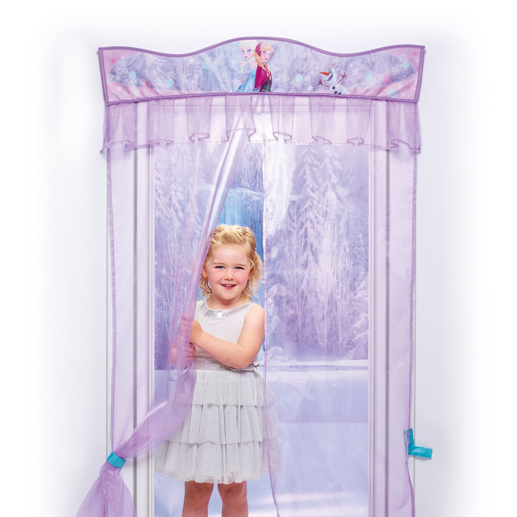 Disney frozen door decor curtain new official bedroom - Reine des neiges chambre ...