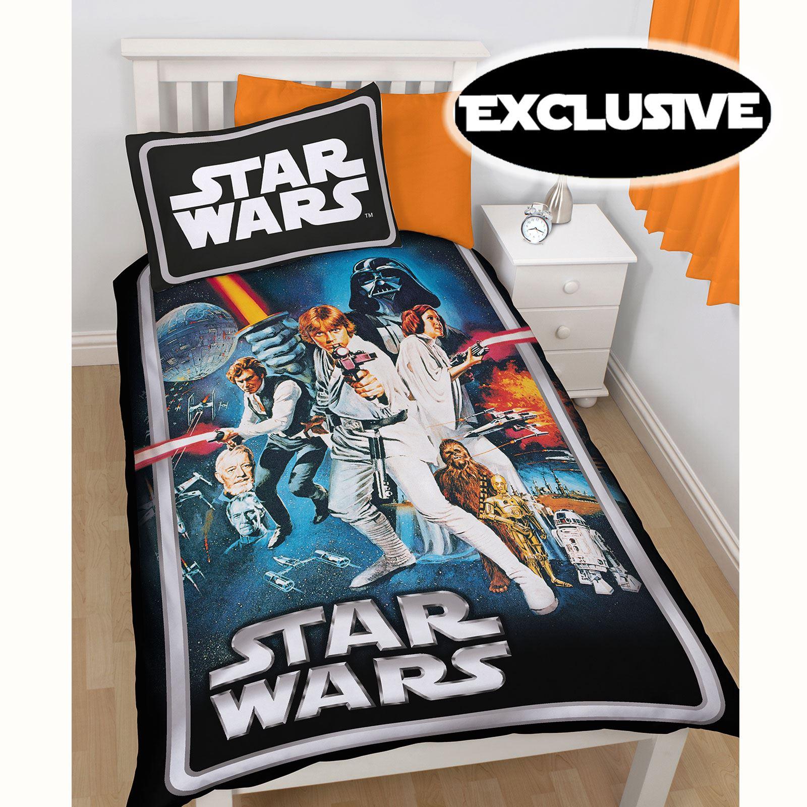 Housse De Couette Star Wars Parure De Lit Chambre 192