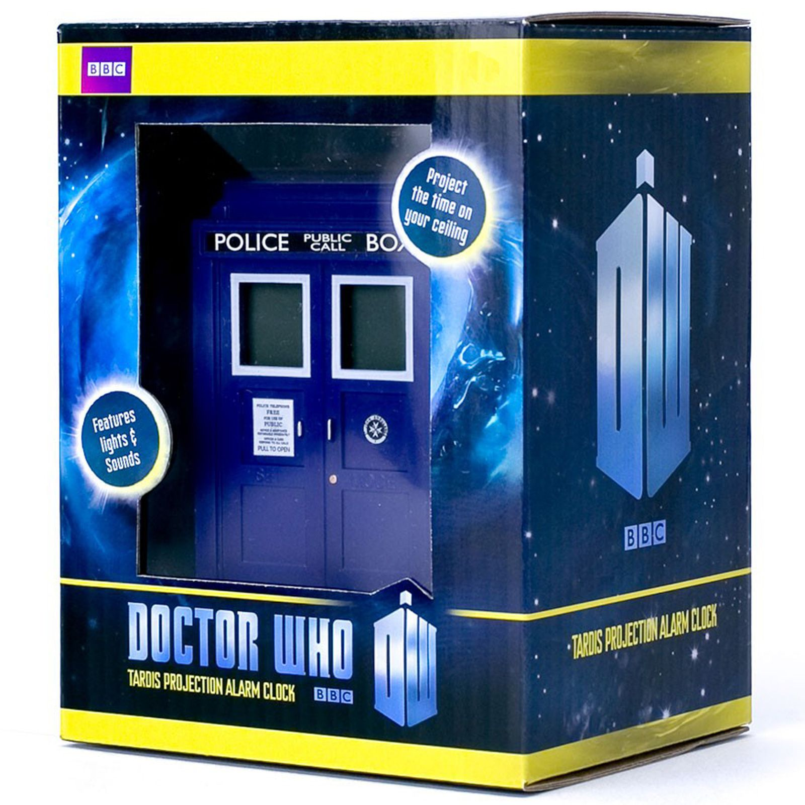 Doctor who tardis projection alarm clock new dr official ebay - Tardis alarm clock ...