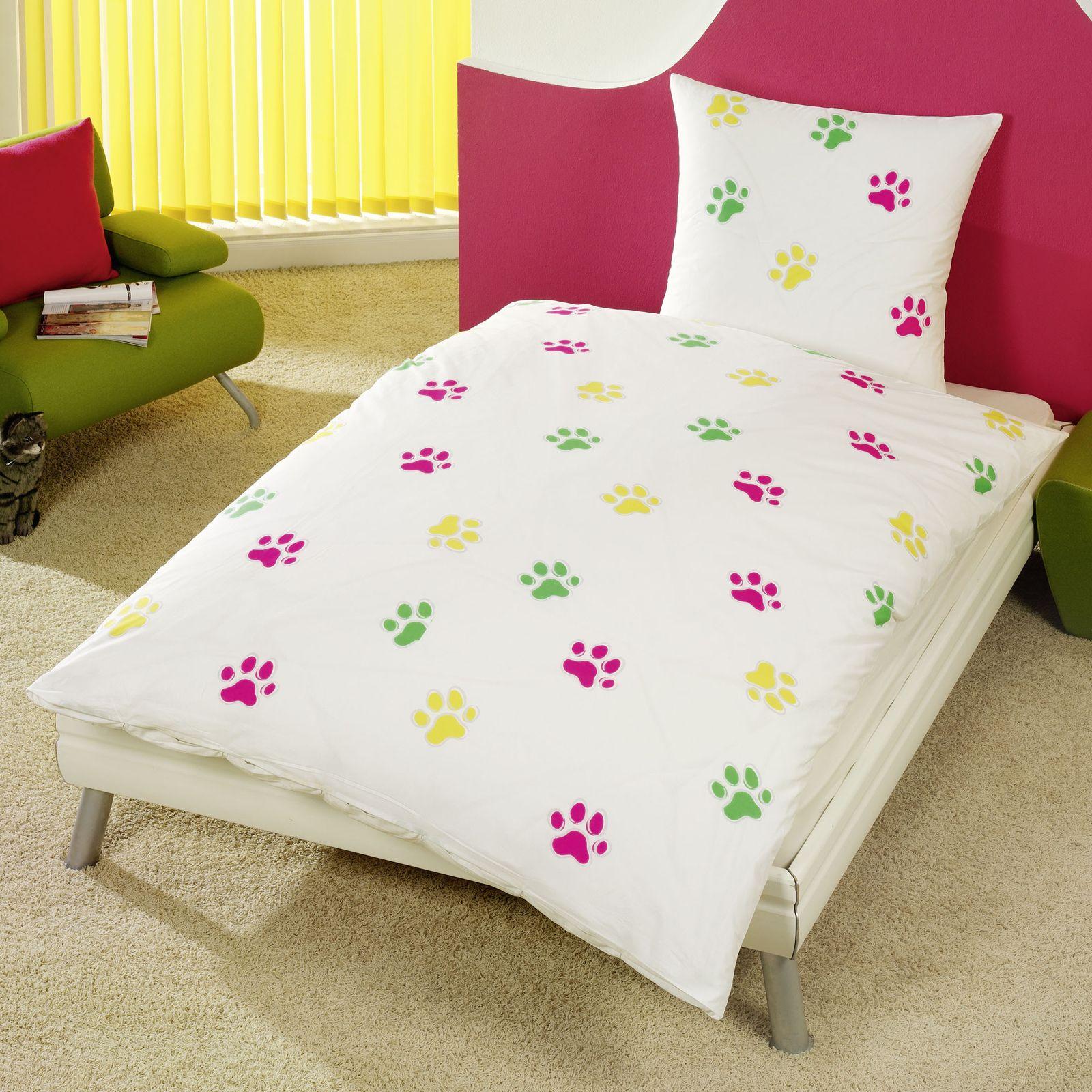 tier bettw sche 100 baumwolle bettbez ge neu schlafzimmer pferde welpen katzen. Black Bedroom Furniture Sets. Home Design Ideas