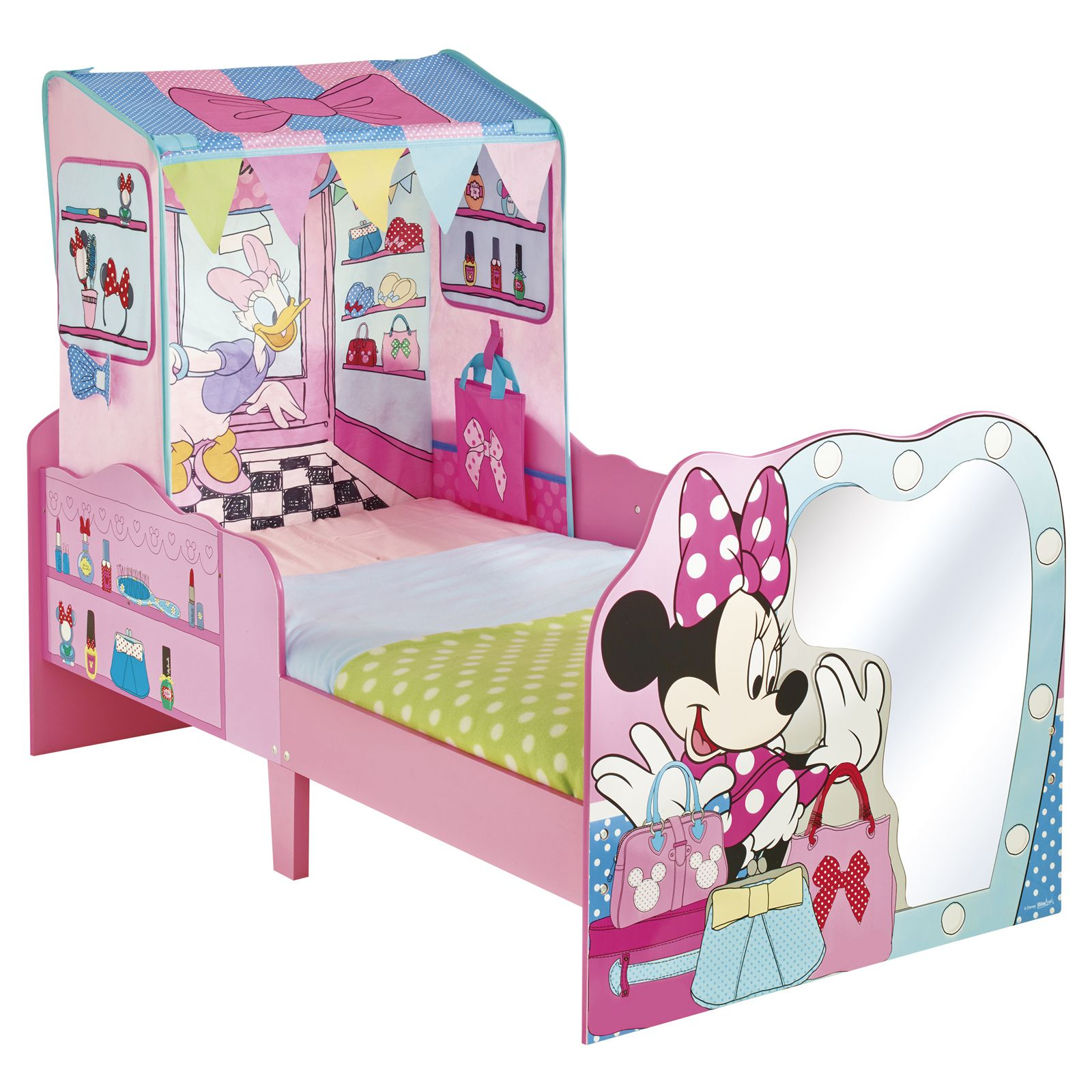 minnie mouse startime junior kleinkind eigenschaft bett neu disney ebay. Black Bedroom Furniture Sets. Home Design Ideas