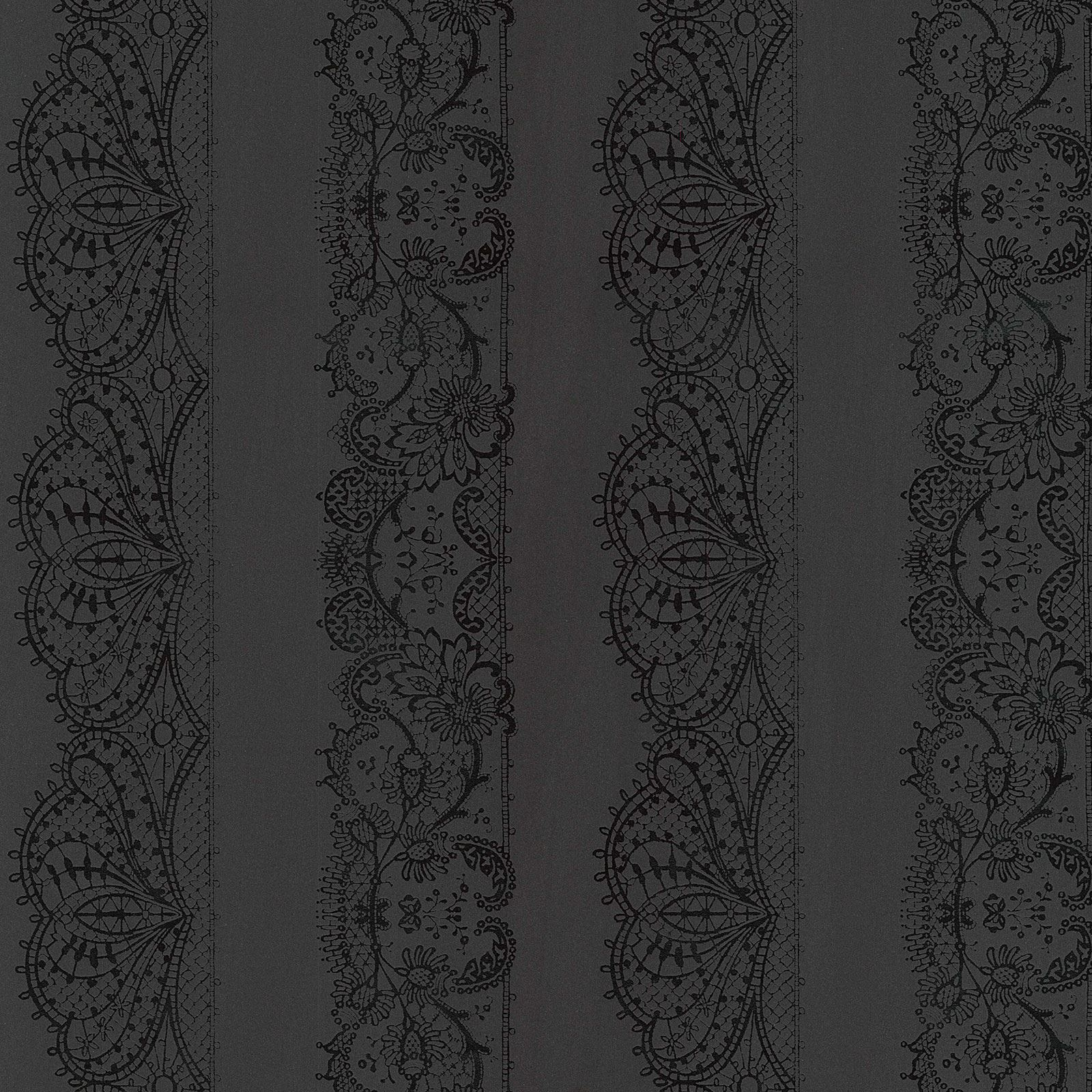 Tablecloths For 8ft Tables Details about CATHERINE LANSFIELD LACE EFFECT WALLPAPER 13379-44 BLACK ...