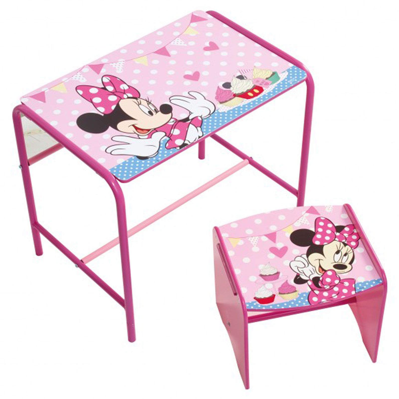 MINNIE MOUSE DOODLE DESK STOOL NEW BEDROOM FURNITURE GIRLS ROOM 472MIZ0