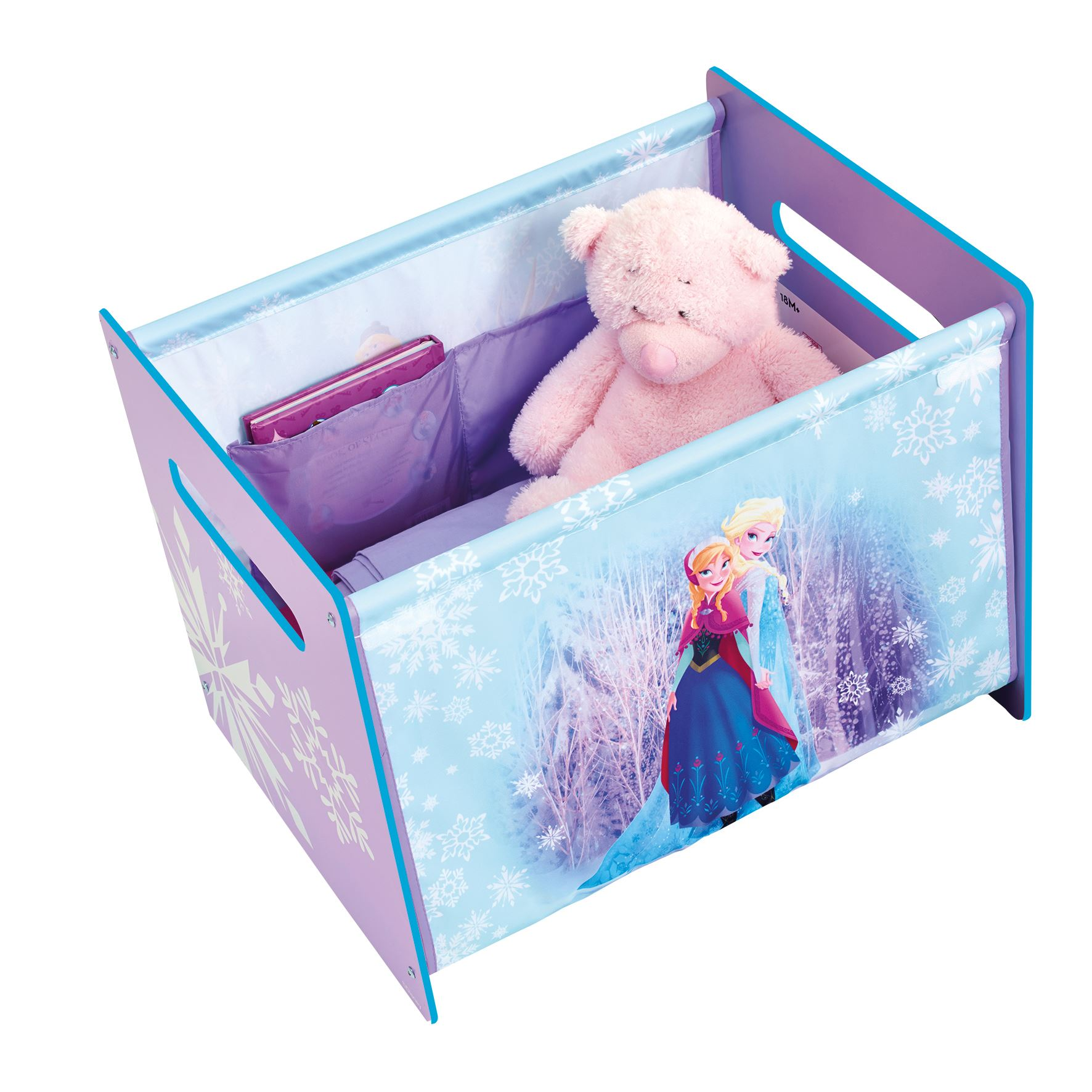 DISNEY FROZEN COSYTIME TOY BOX NEW OFFICIAL BEDROOM STORAGE EBay