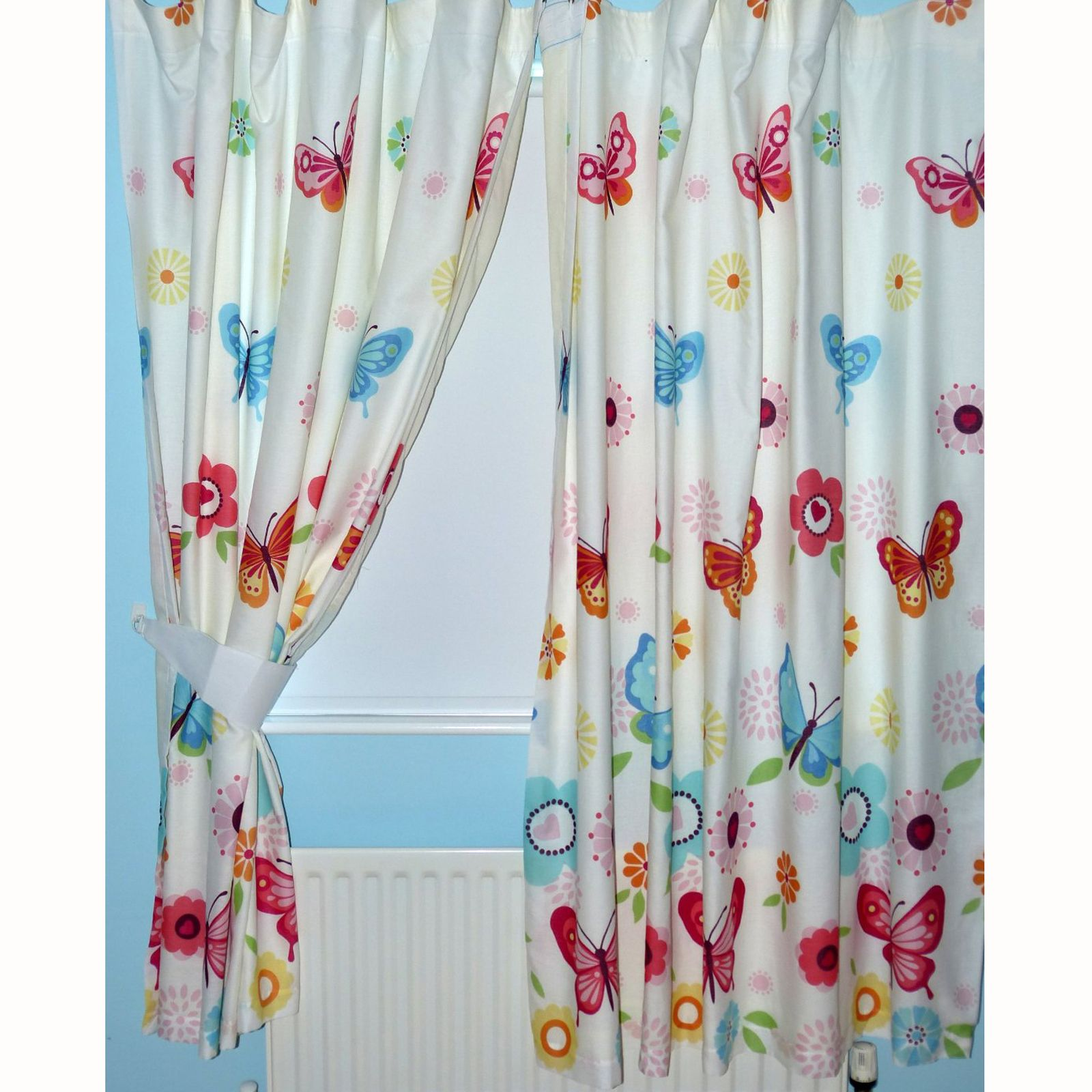 "Girls bedroom curtains in various designs 66"" x 72"" fully lined ..."