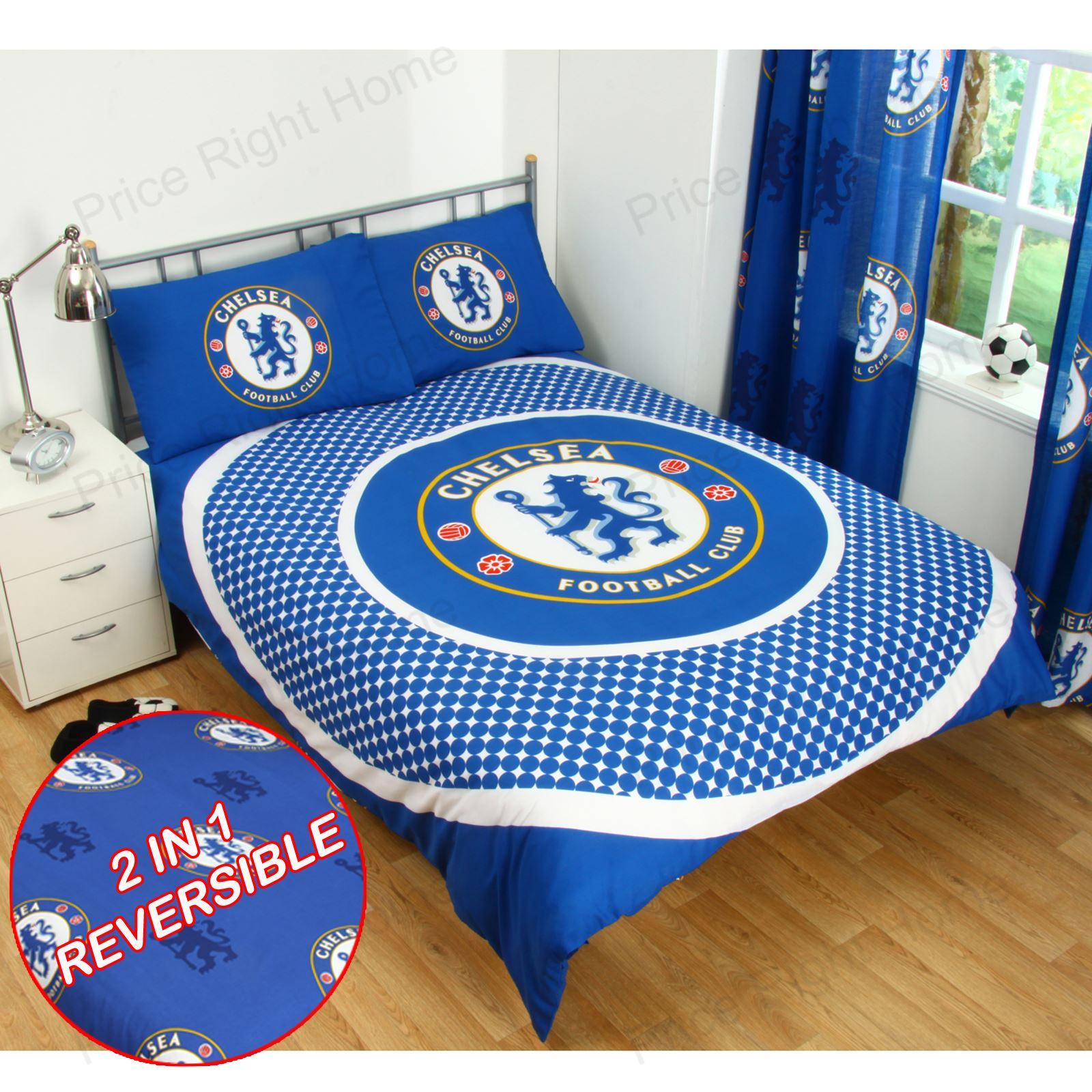 Chelsea fc set housse de couette double neuf official - Housse de couette enfants ...