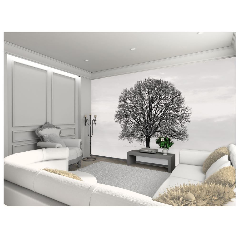 Large wallpaper feature wall murals landscapes for Black wall mural