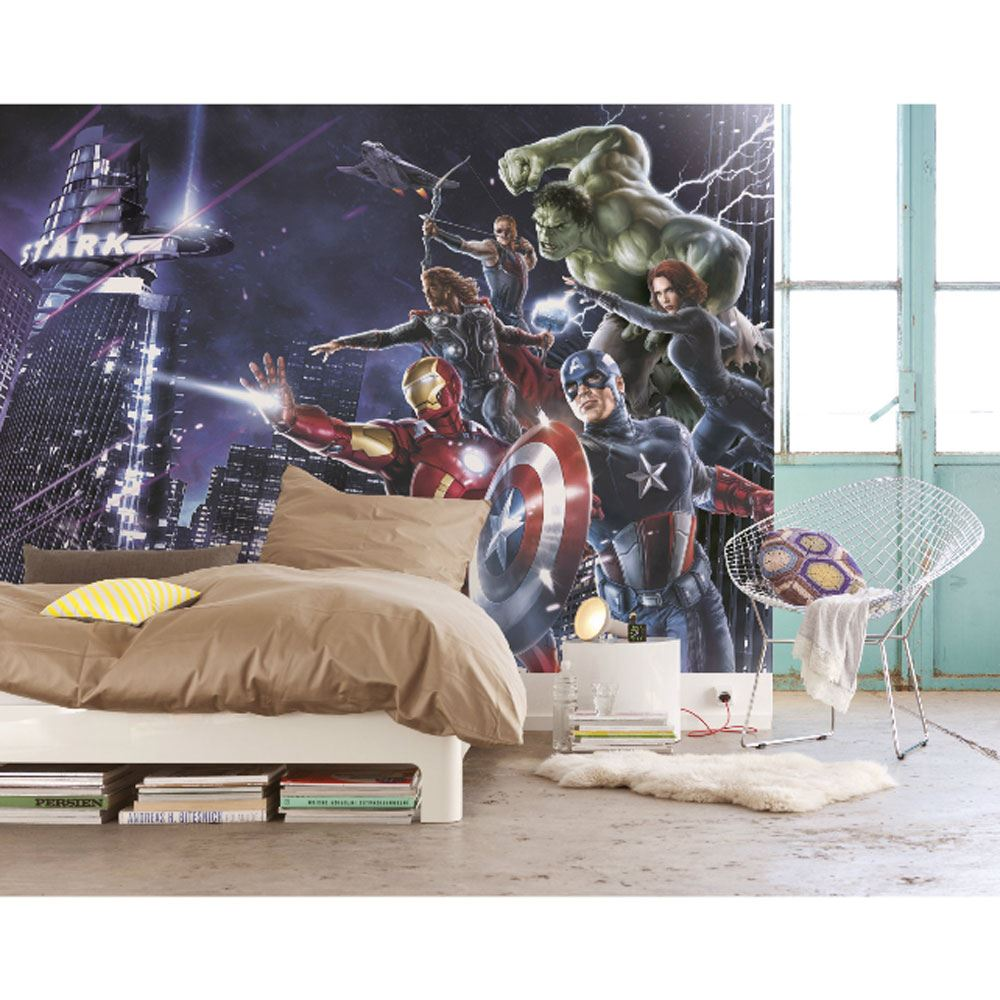 about marvel comics and avengers wallpaper wall murals d cor bedroom