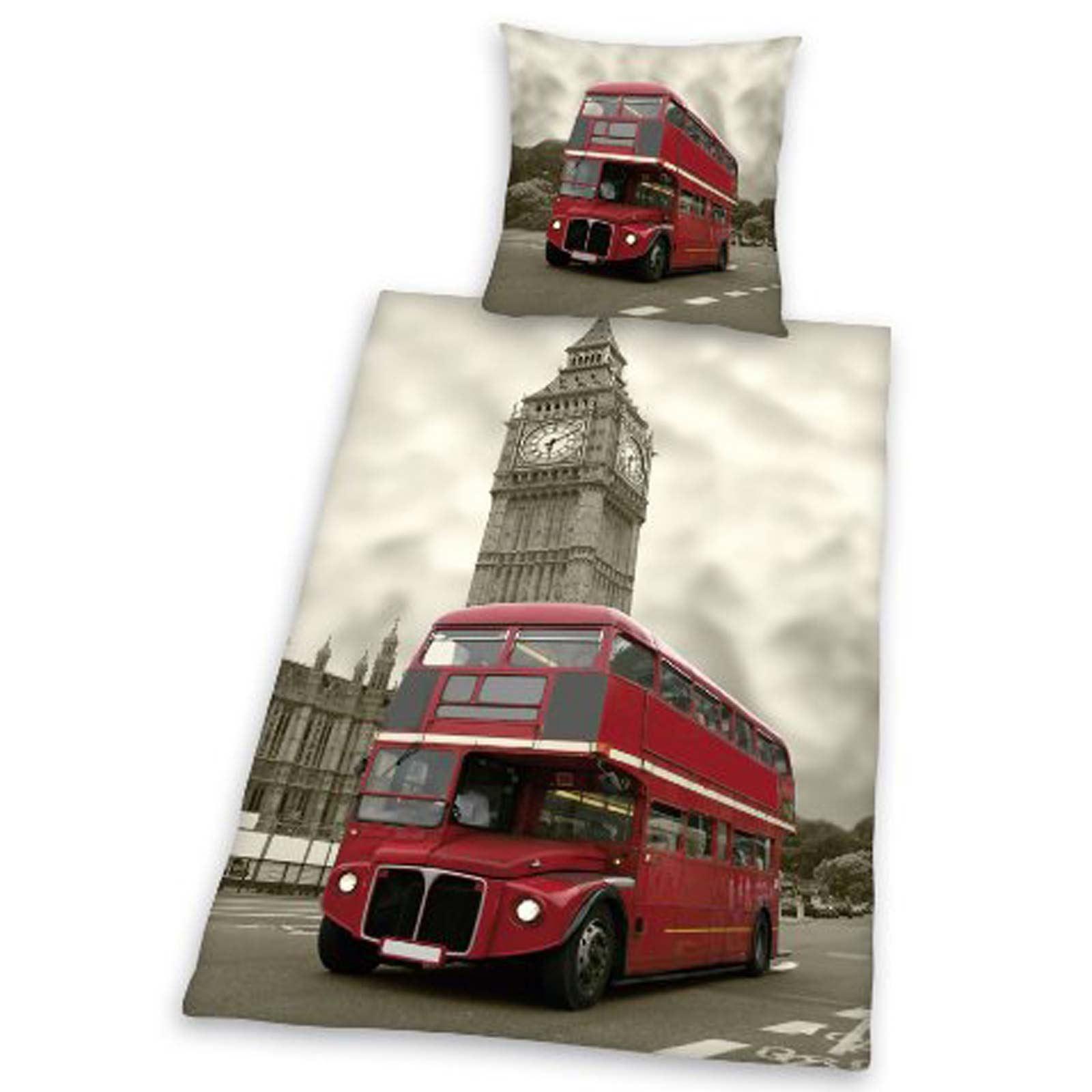 Detalles de LONDON ROPA DE CAMA FUNDA EDREDu00d3N INDIVIDUAL SETS CIUDAD ...