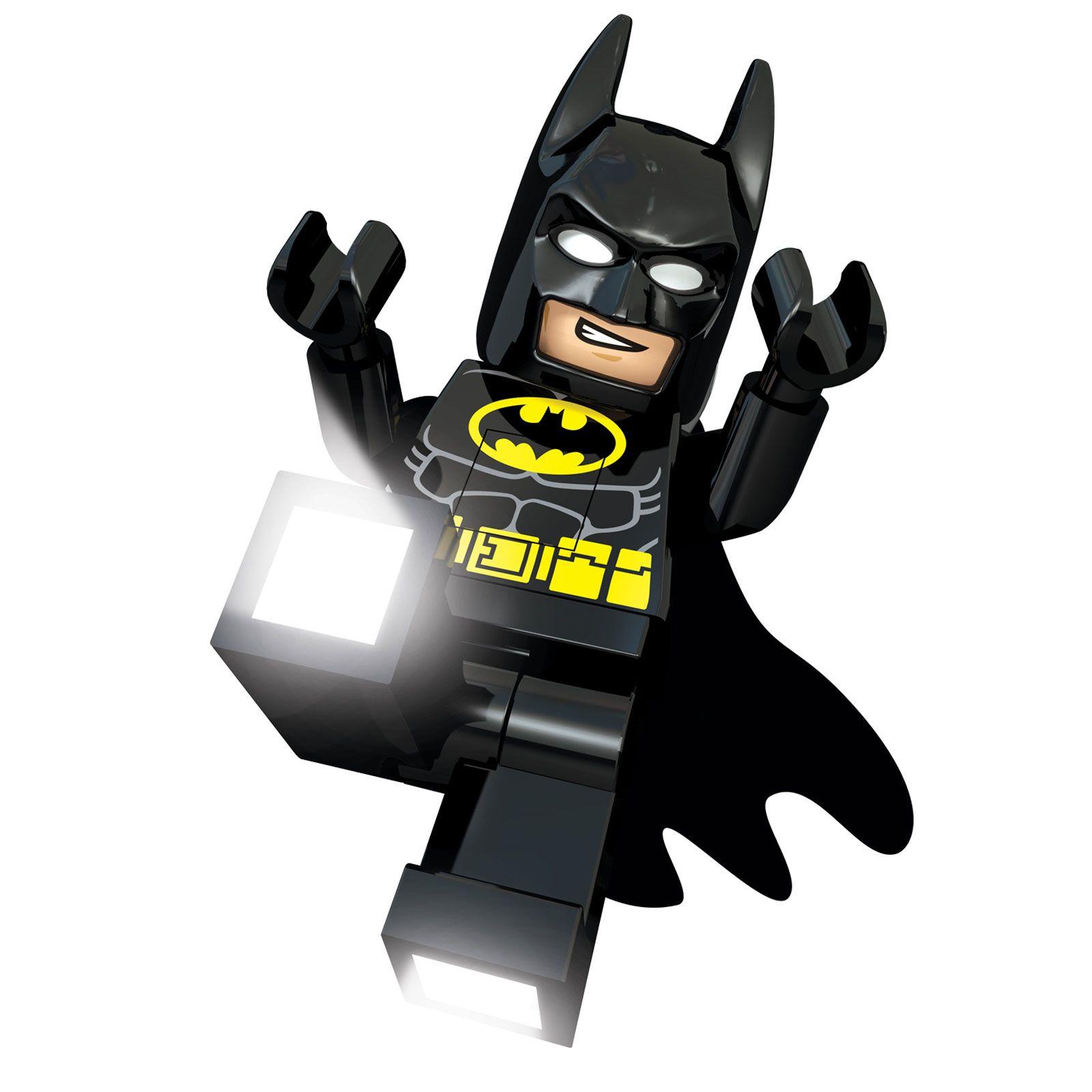 lego dc superhelden batman led taschenlampe bettseitig licht kinder ebay. Black Bedroom Furniture Sets. Home Design Ideas