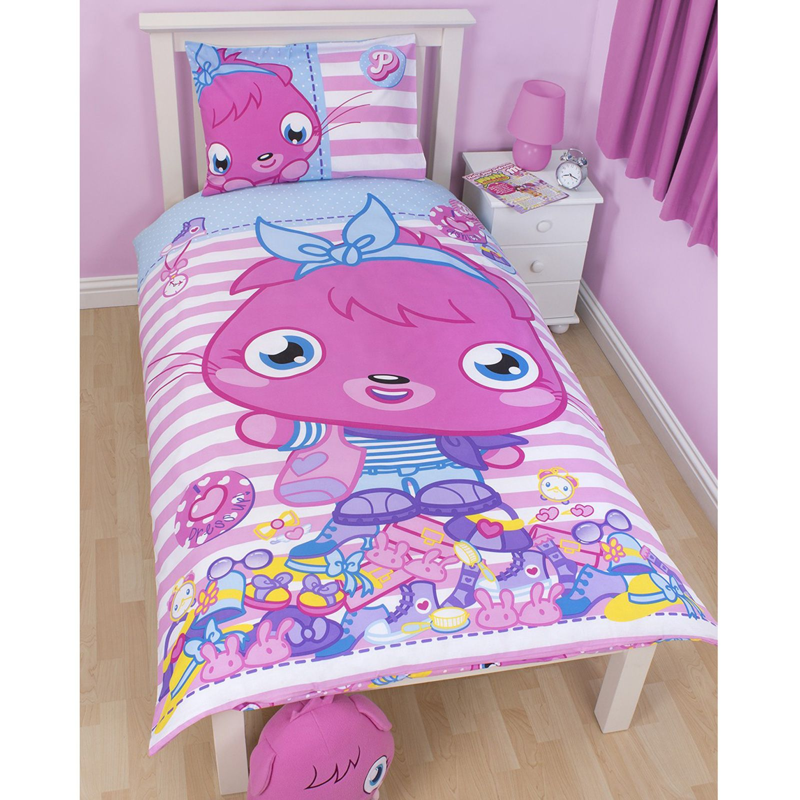 Moshi Monsters Poppet Bedding Amp Bedroom Accessories