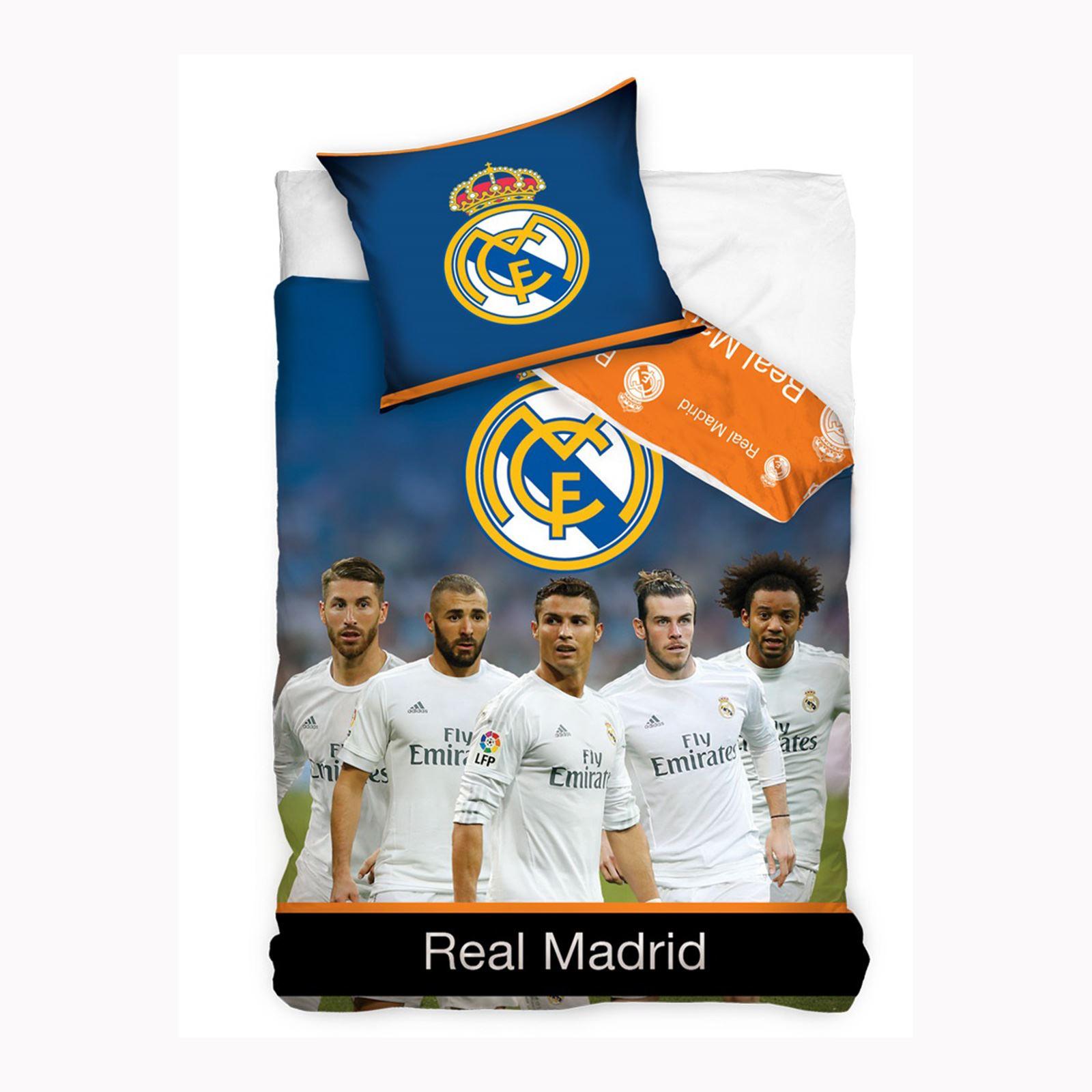real madrid ropa de cama y habitaci n accesorios football