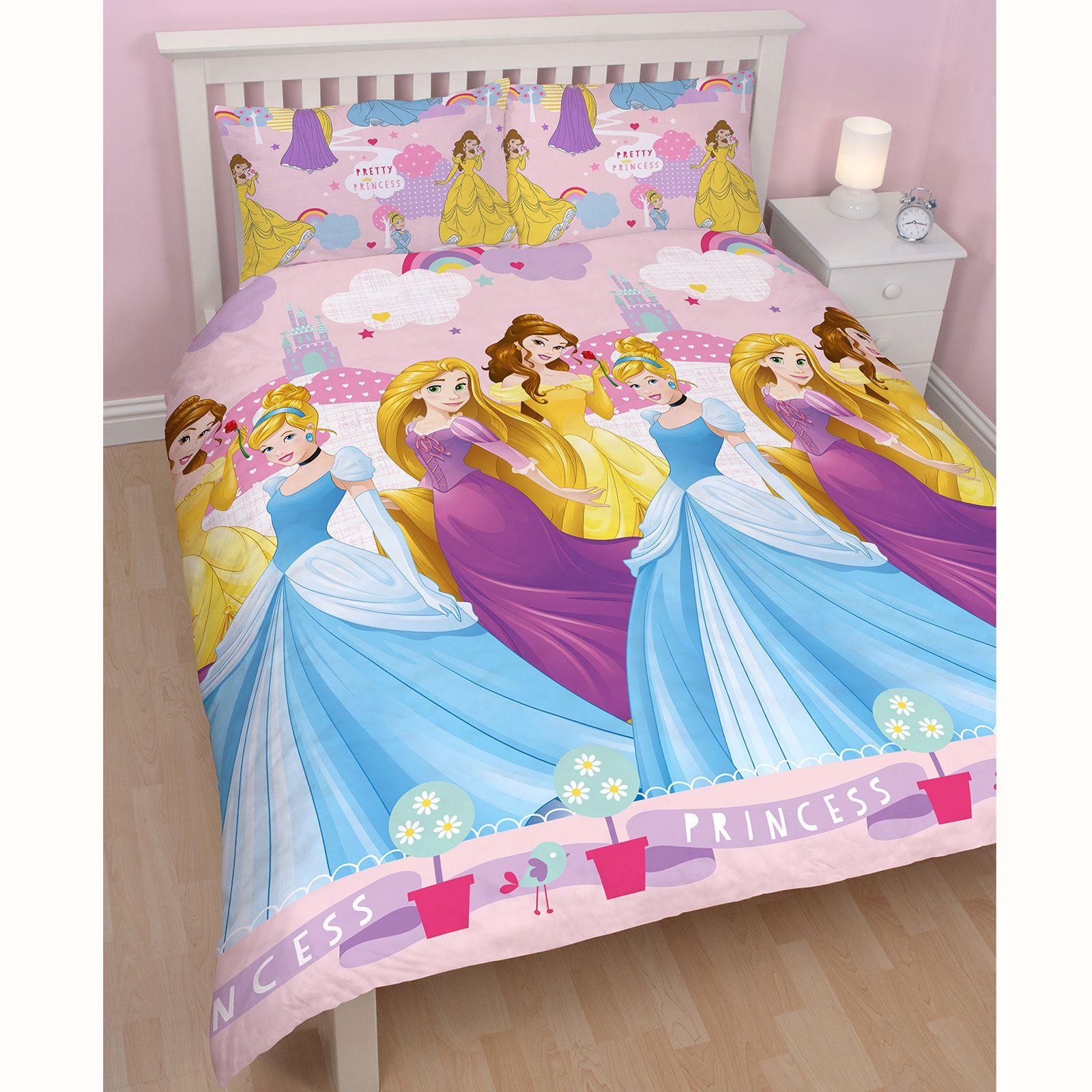 Disney Princess Enchanting Double Duvet Cover Set