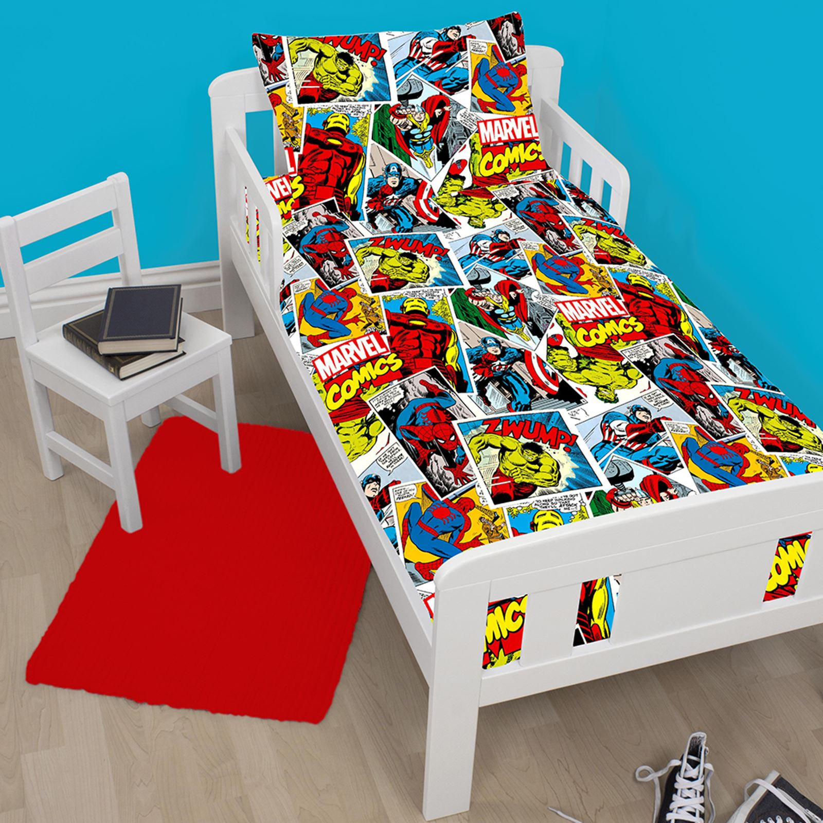 Marvel Bedding And Curtains Sheets and Bedding